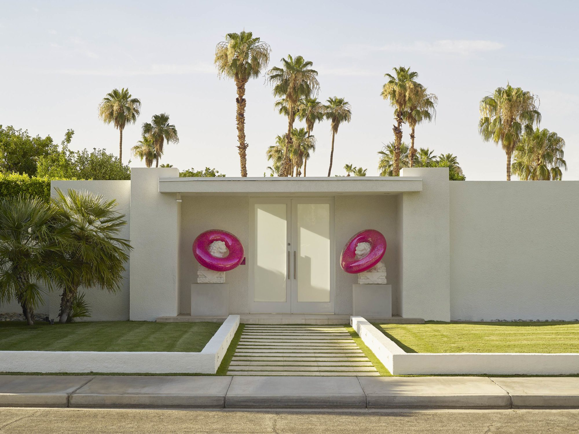 Party House - I Heart Palm Springs Collection - Fine Art Photography by Toby Dixon