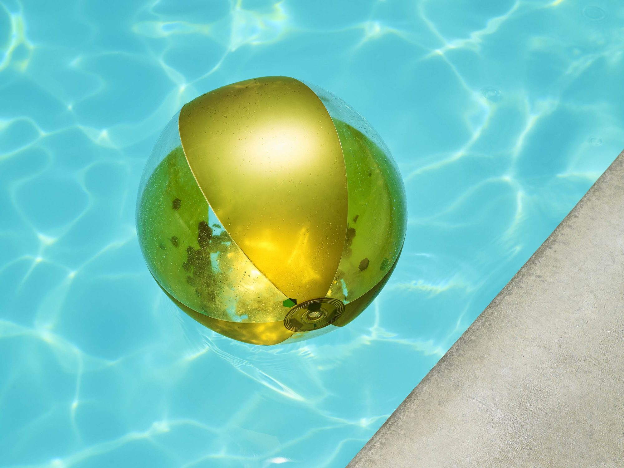 Gold Ball - I Heart Palm Springs Collection - Fine Art Photography by Toby Dixon
