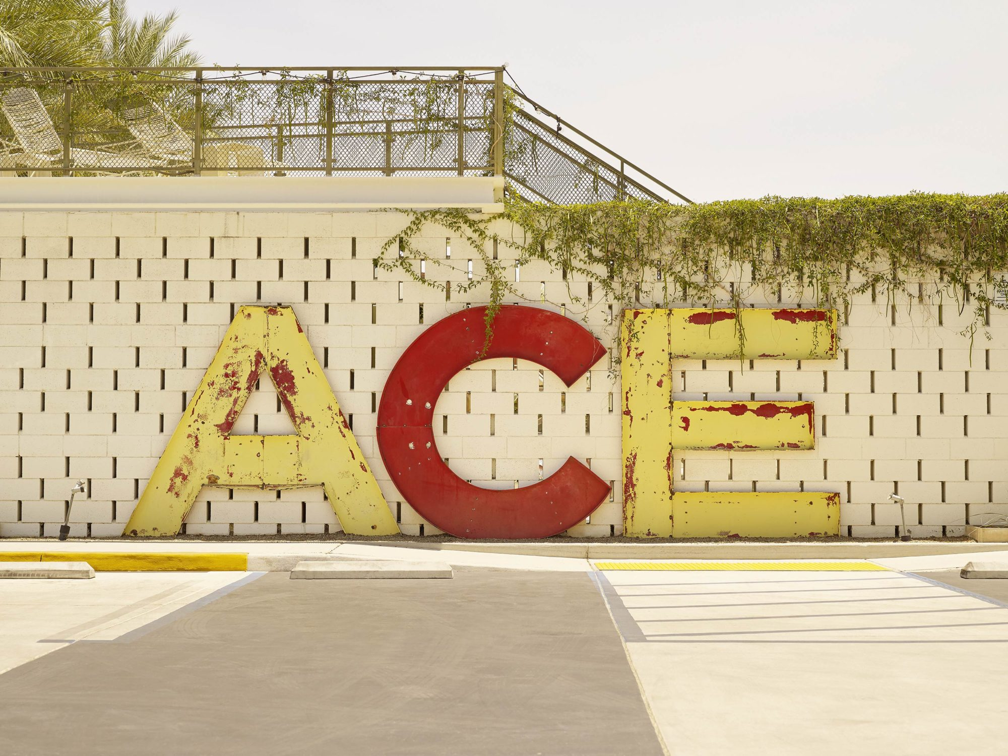 Ace Hotel - I Heart Palm Springs Collection - Fine Art Photography by Toby Dixon