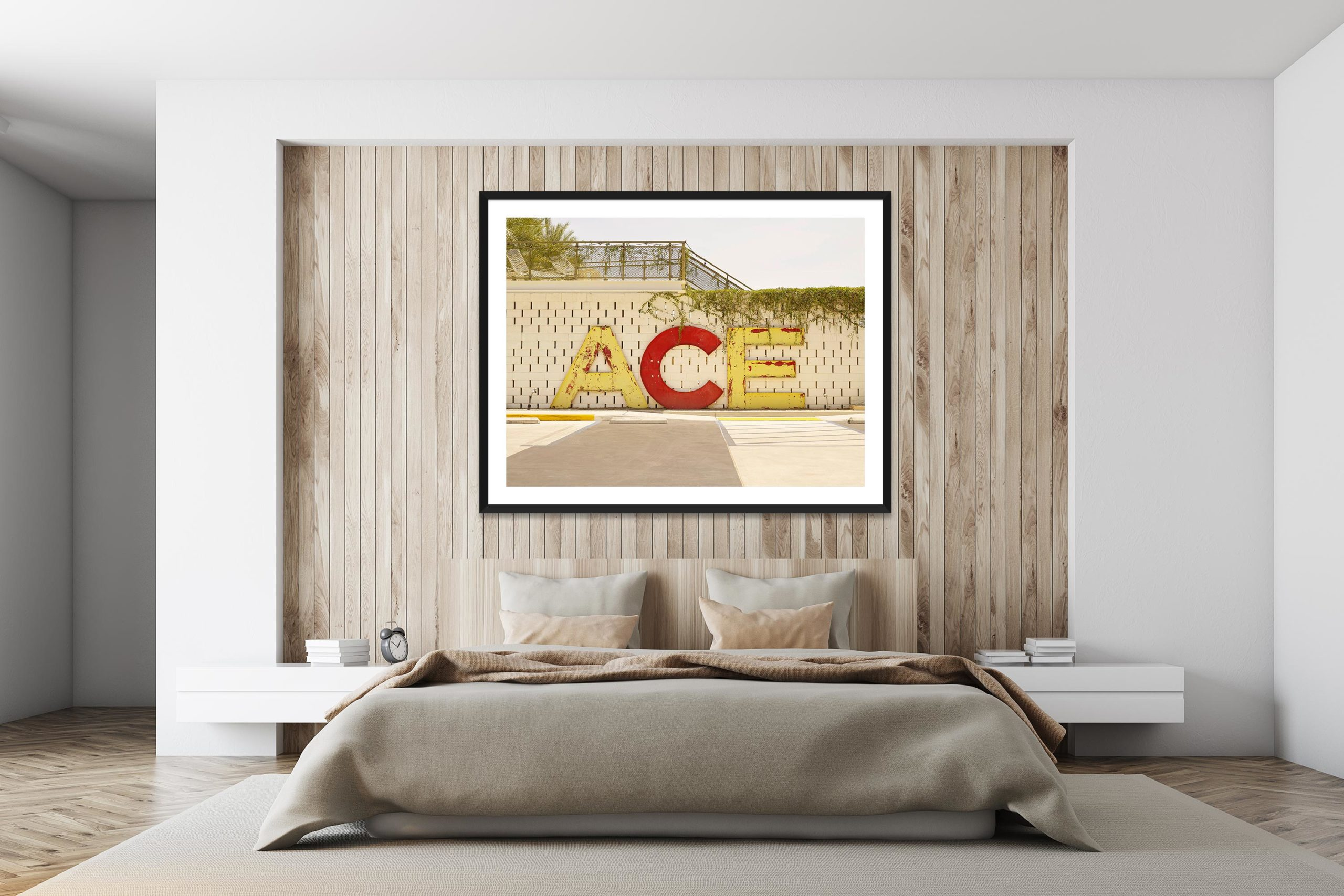 Ace Hotel - Black Frame - I Heart Palm Springs Collection - Fine Art Photography by Toby Dixon
