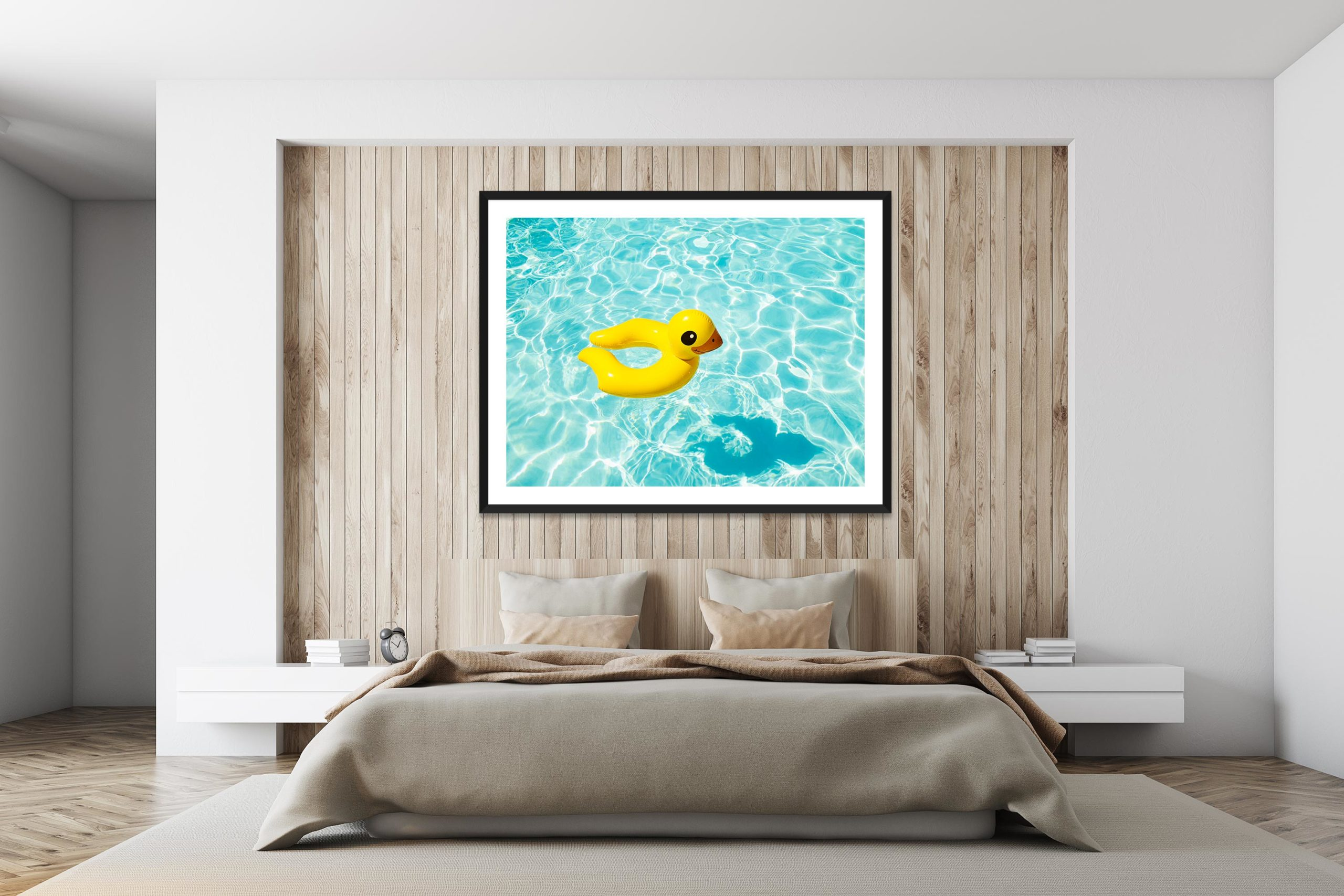 Duckie - Black Frame - I Heart Palm Springs Collection - Fine Art Photography by Toby Dixon