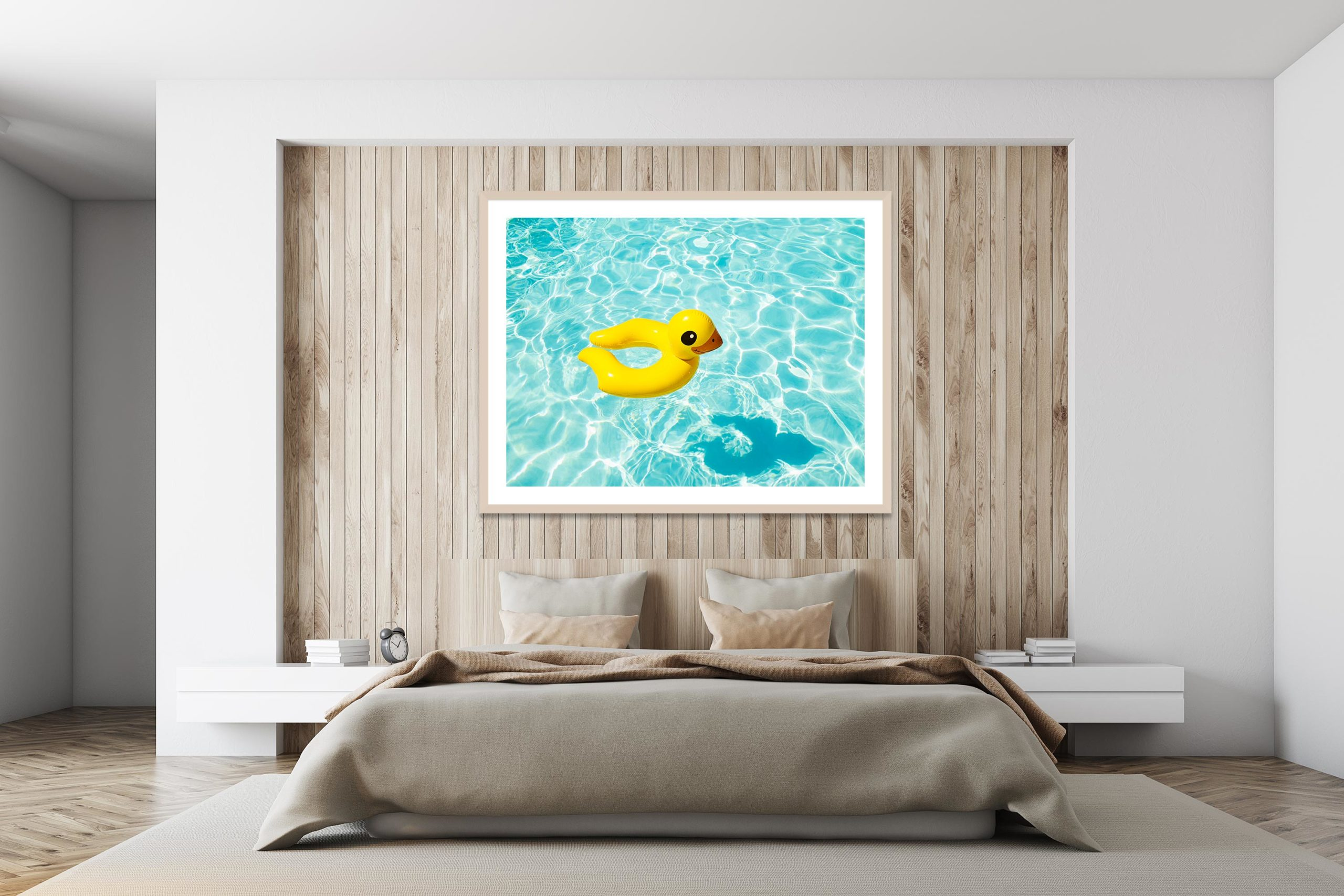Duckie - Timber Frame - I Heart Palm Springs Collection - Fine Art Photography by Toby Dixon