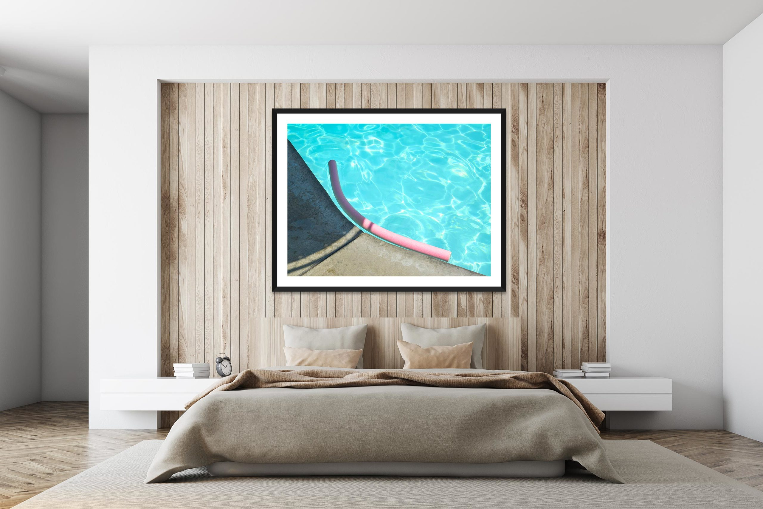 Noodle - Black Frame - I Heart Palm Springs Collection - Fine Art Photography by Toby Dixon