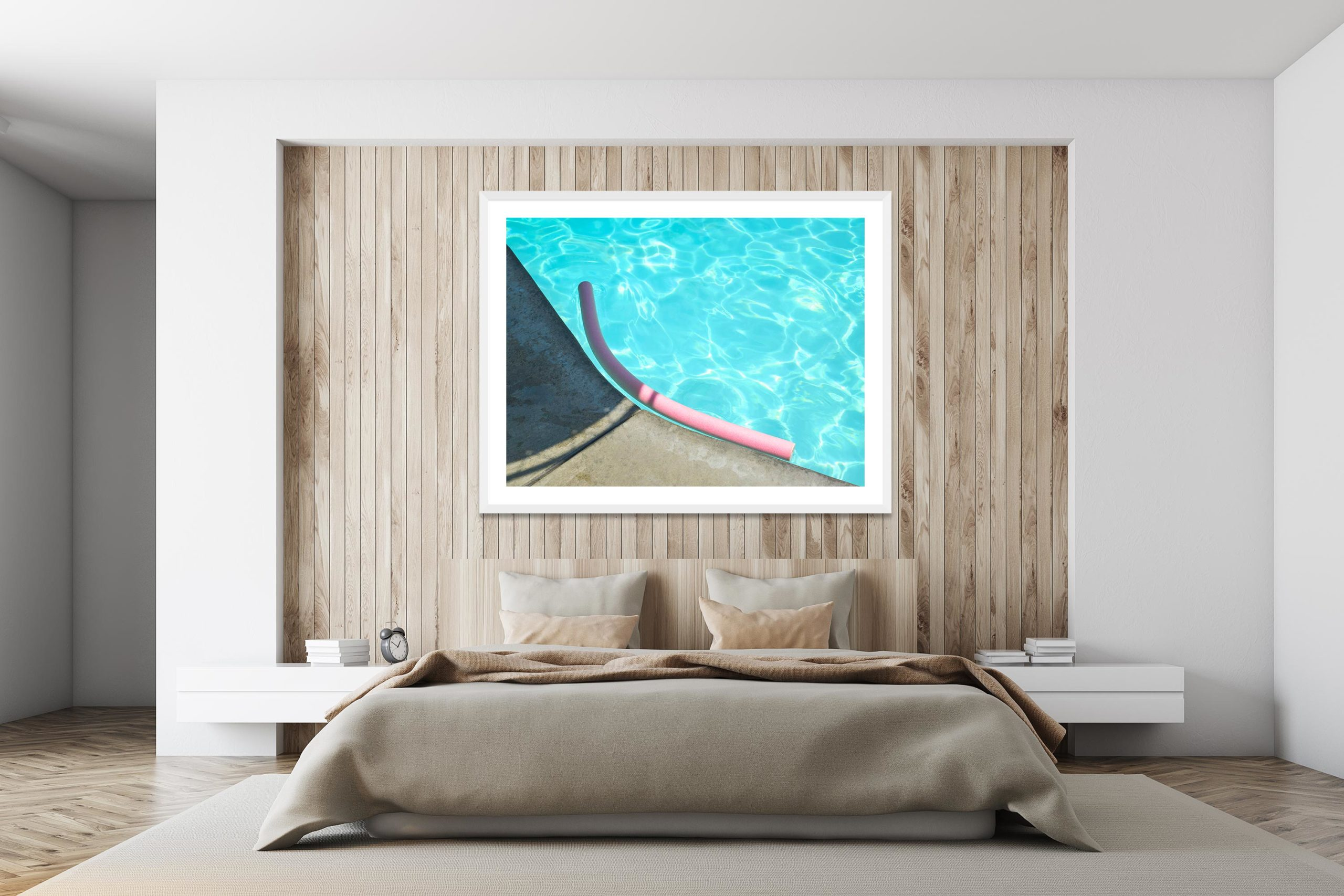Noodle - White Frame - I Heart Palm Springs Collection - Fine Art Photography by Toby Dixon