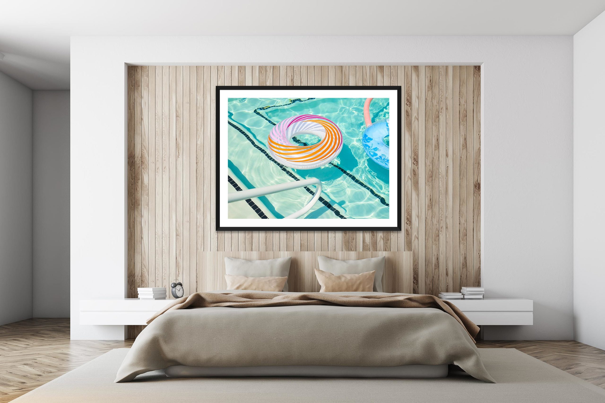 Rings - Black Frame - I Heart Palm Springs Collection - Fine Art Photography by Toby Dixon