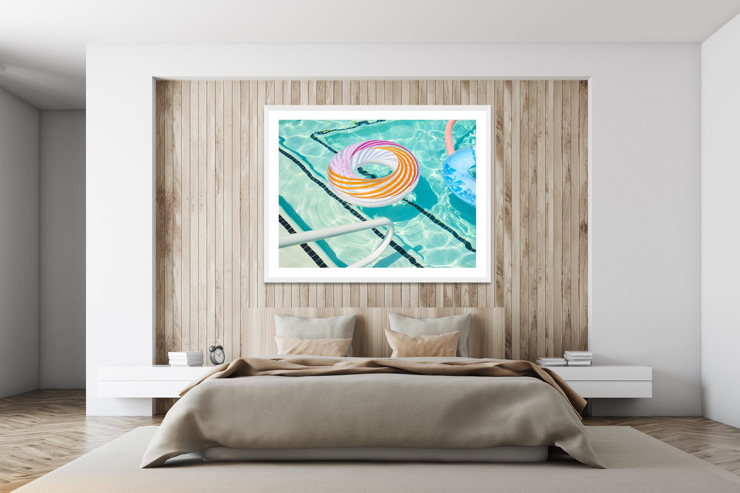 Rings - White Frame - I Heart Palm Springs Collection - Fine Art Photography by Toby Dixon