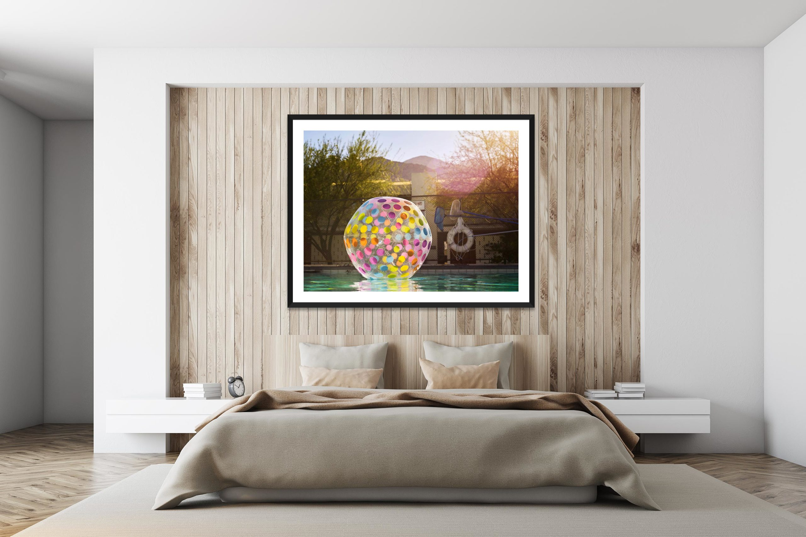 Apres Apres - Black Frame - I Heart Palm Springs Collection - Fine Art Photography by Toby Dixon