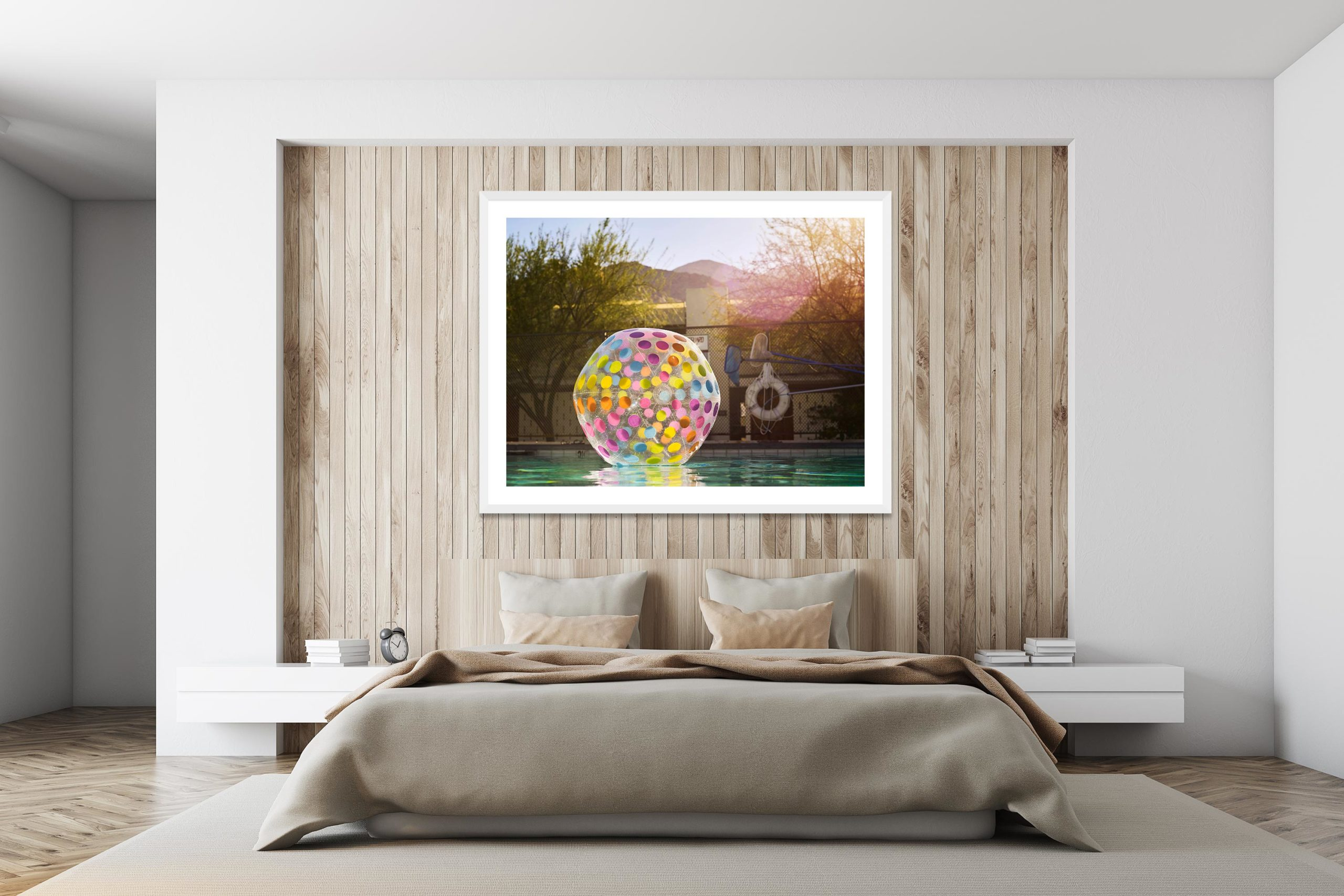 Apres Apres - White Frame - I Heart Palm Springs Collection - Fine Art Photography by Toby Dixon