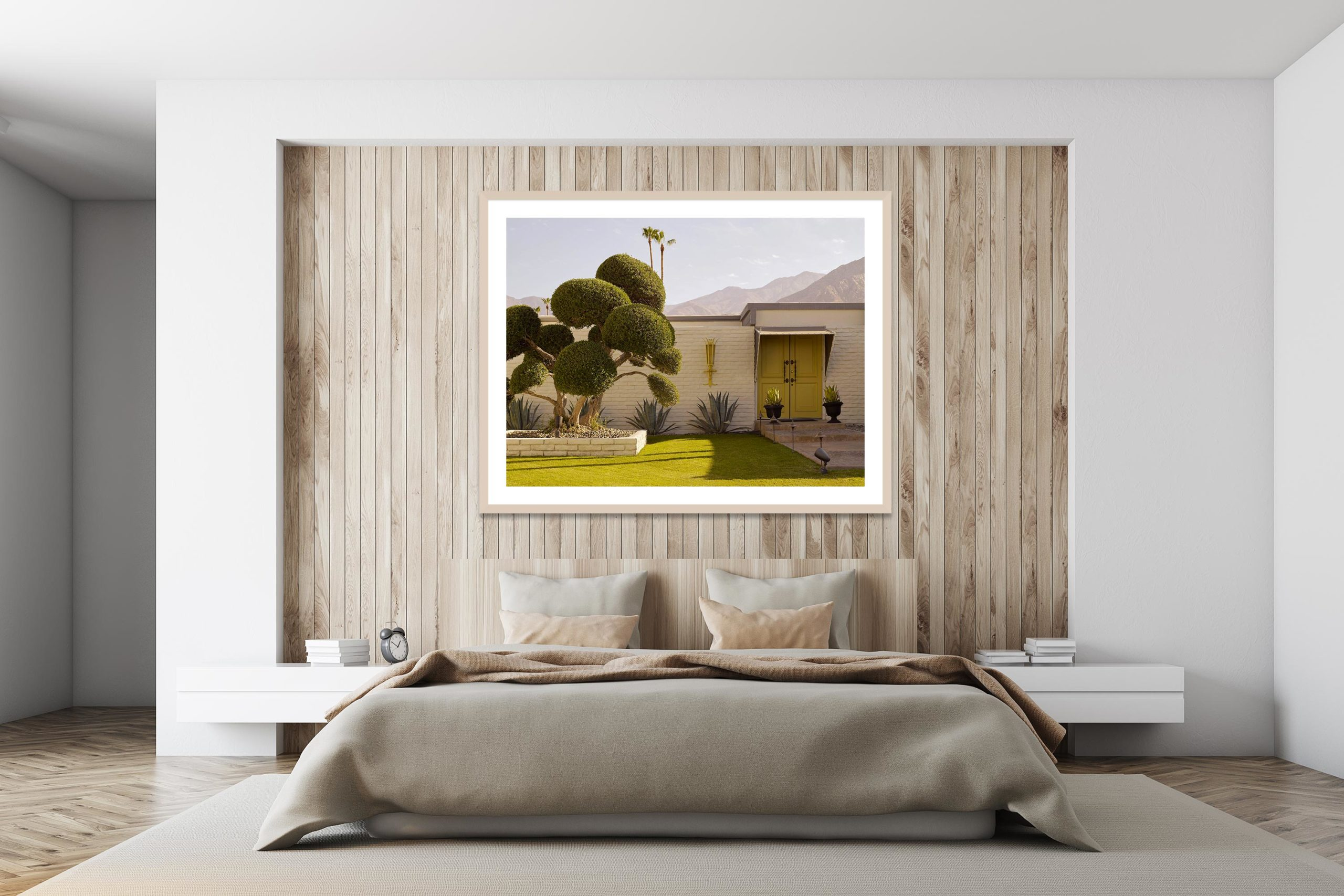 Daydream Dr. Seuss - Timber Frame - I Heart Palm Springs Collection - Fine Art Photography by Toby Dixon