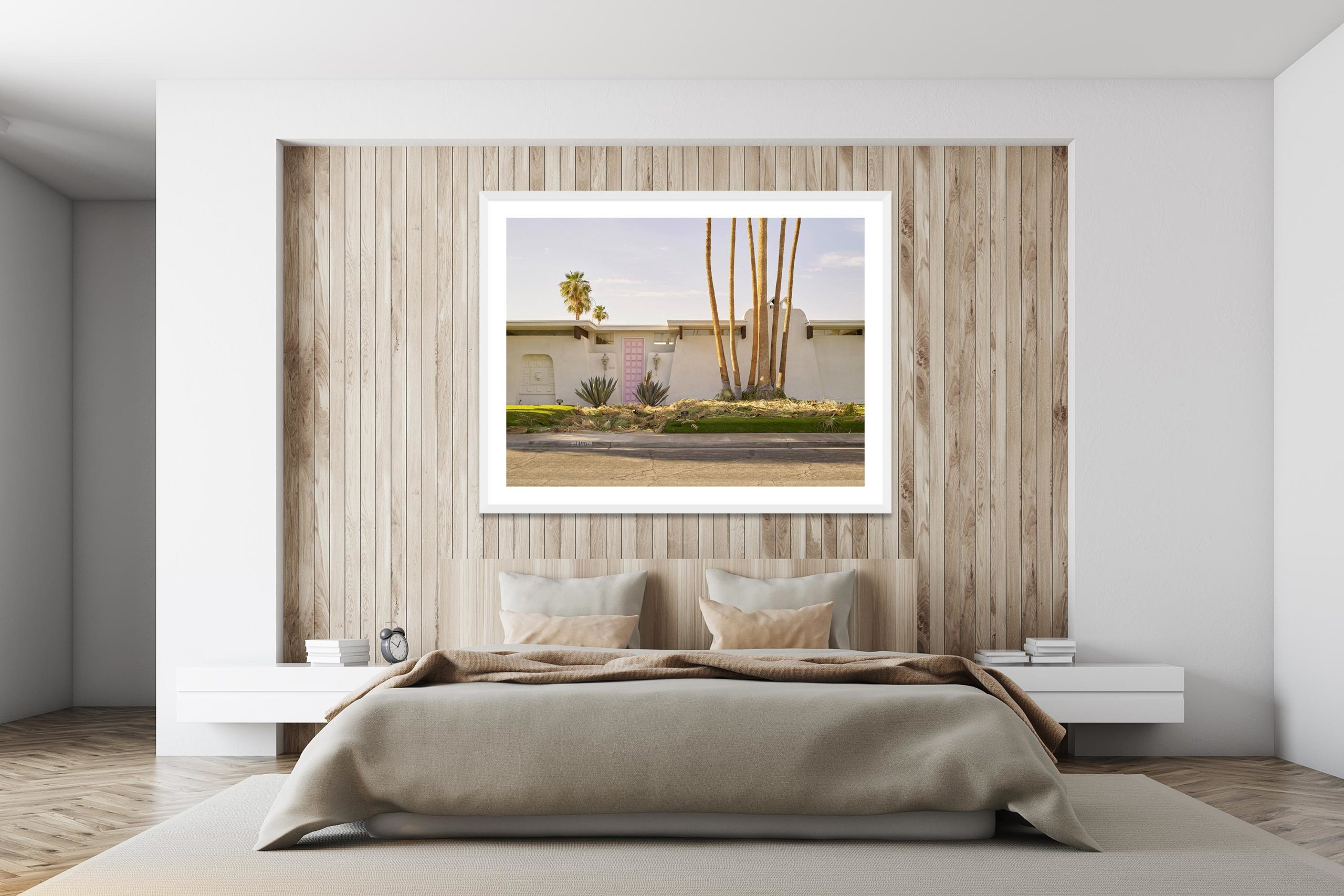No Photography - White Frame - I Heart Palm Springs Collection - Fine Art Photography by Toby Dixon