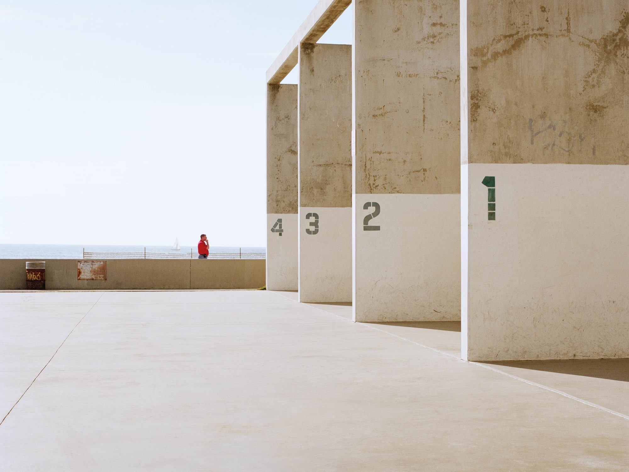 Venice Beach Squash Courts - Concrete Collection - Fine Art Photography by Toby Dixon