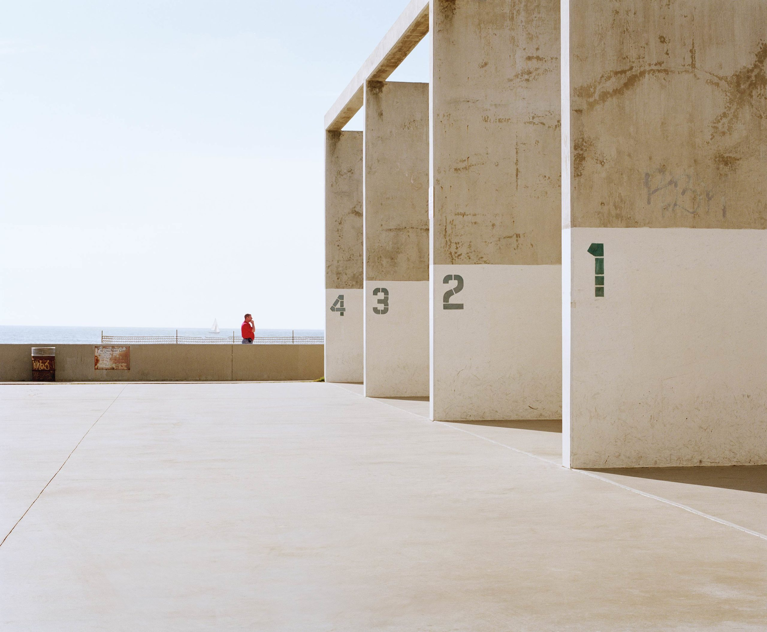Venice Beach Squash Courts - Concrete Collection - Fine Art Photography by Toby Dixon