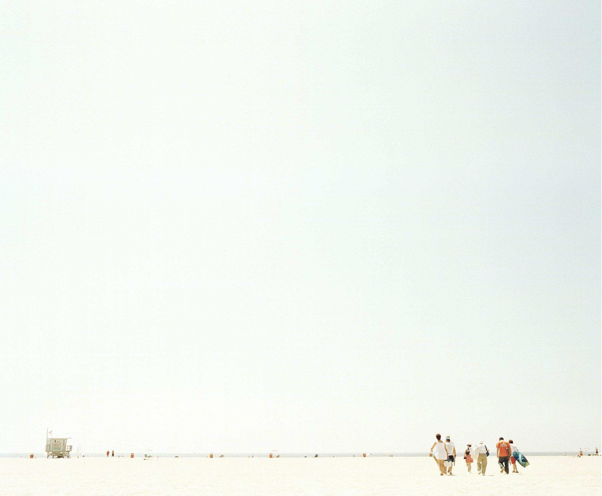 Venice Beach Walkers - Skate Park, Venice Beach Collection - Fine Art Photography by Toby Dixon