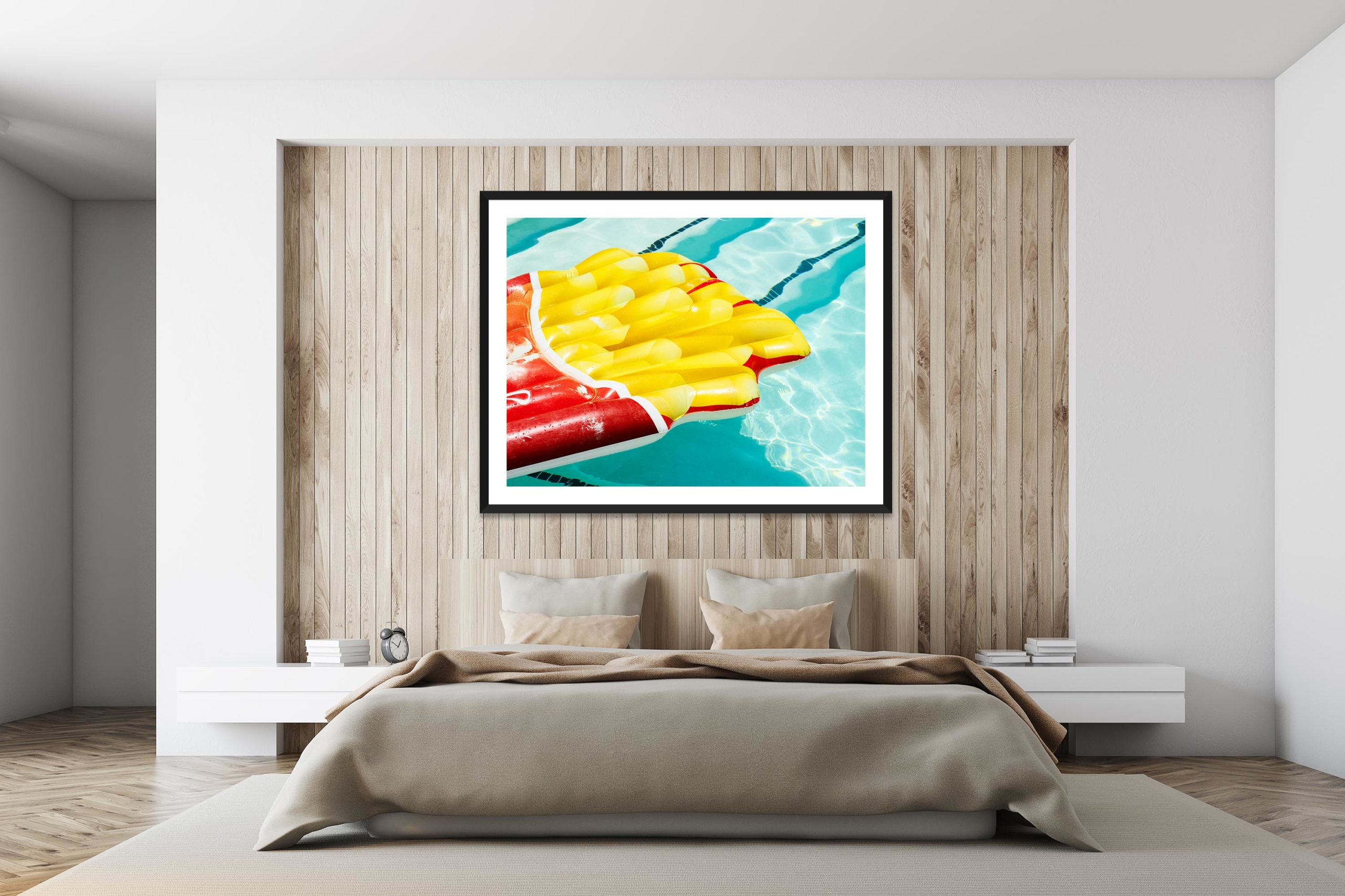 Fries - Black Frame - I Heart Palm Springs Collection - Fine Art Photography by Toby Dixon