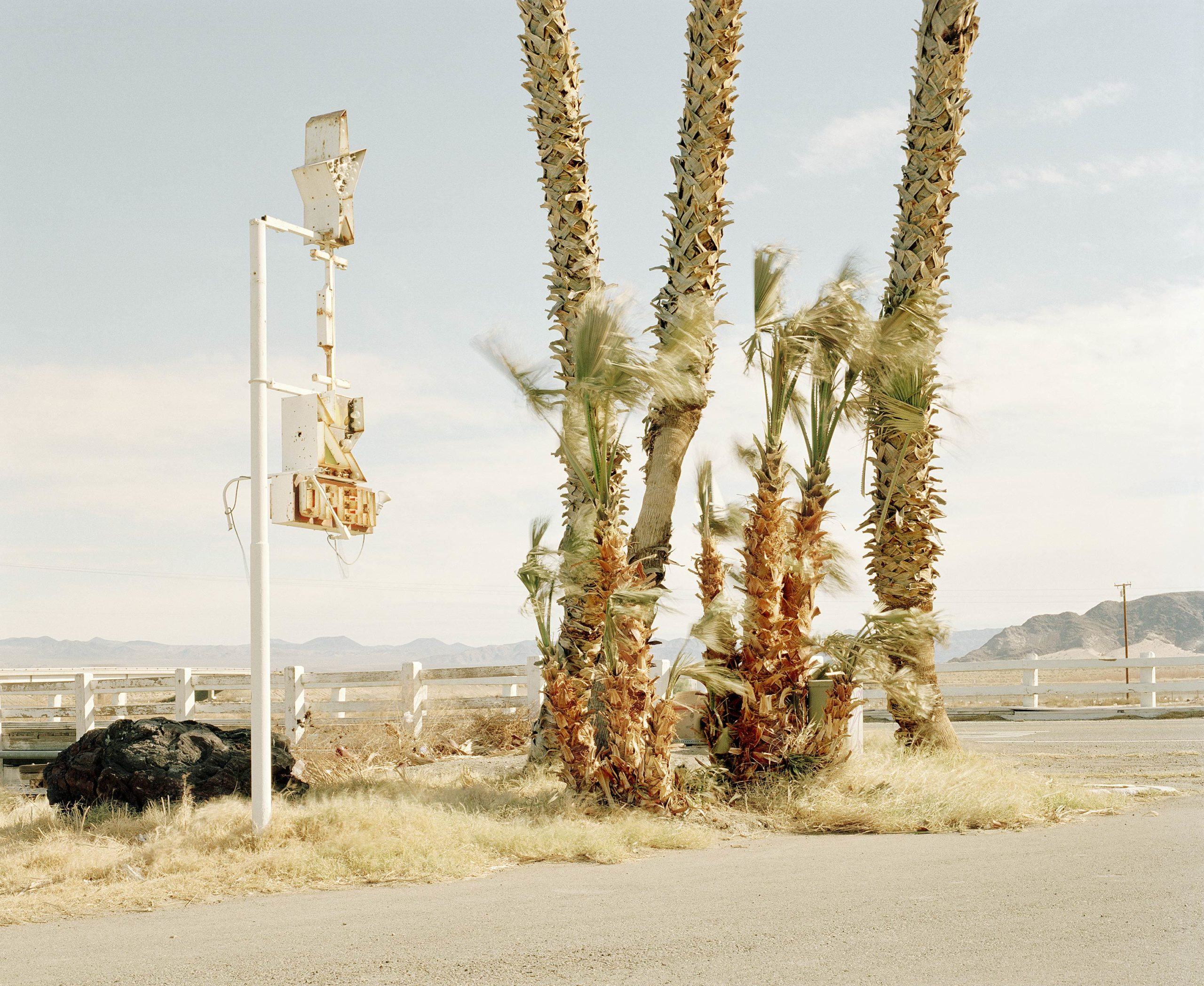 Nothing Out There - Oh Mojave Collection - Fine Art Photography by Toby Dixon