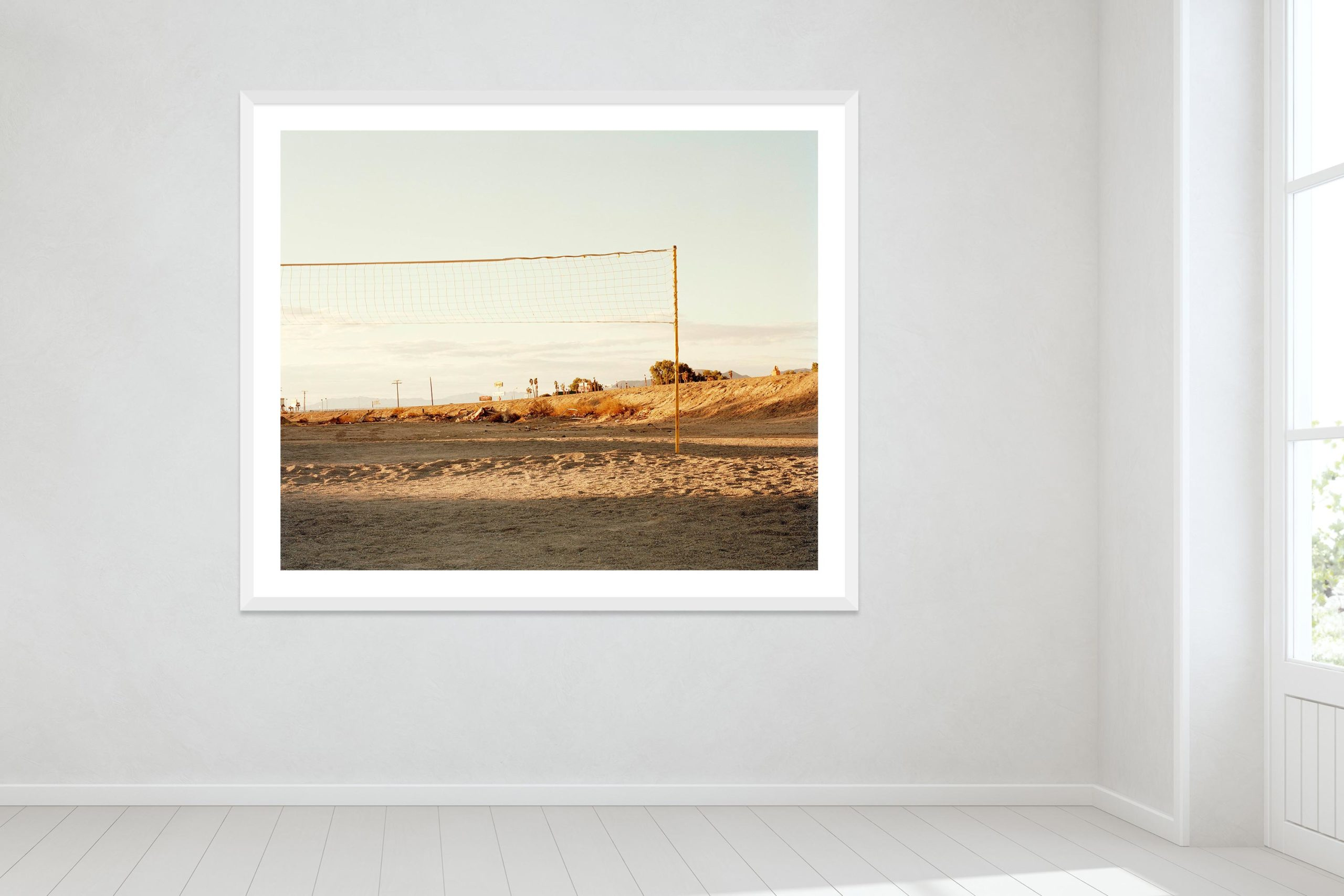 I Knew These People - White Frame - Oh Mojave Collection - Fine Art Photography by Toby Dixon