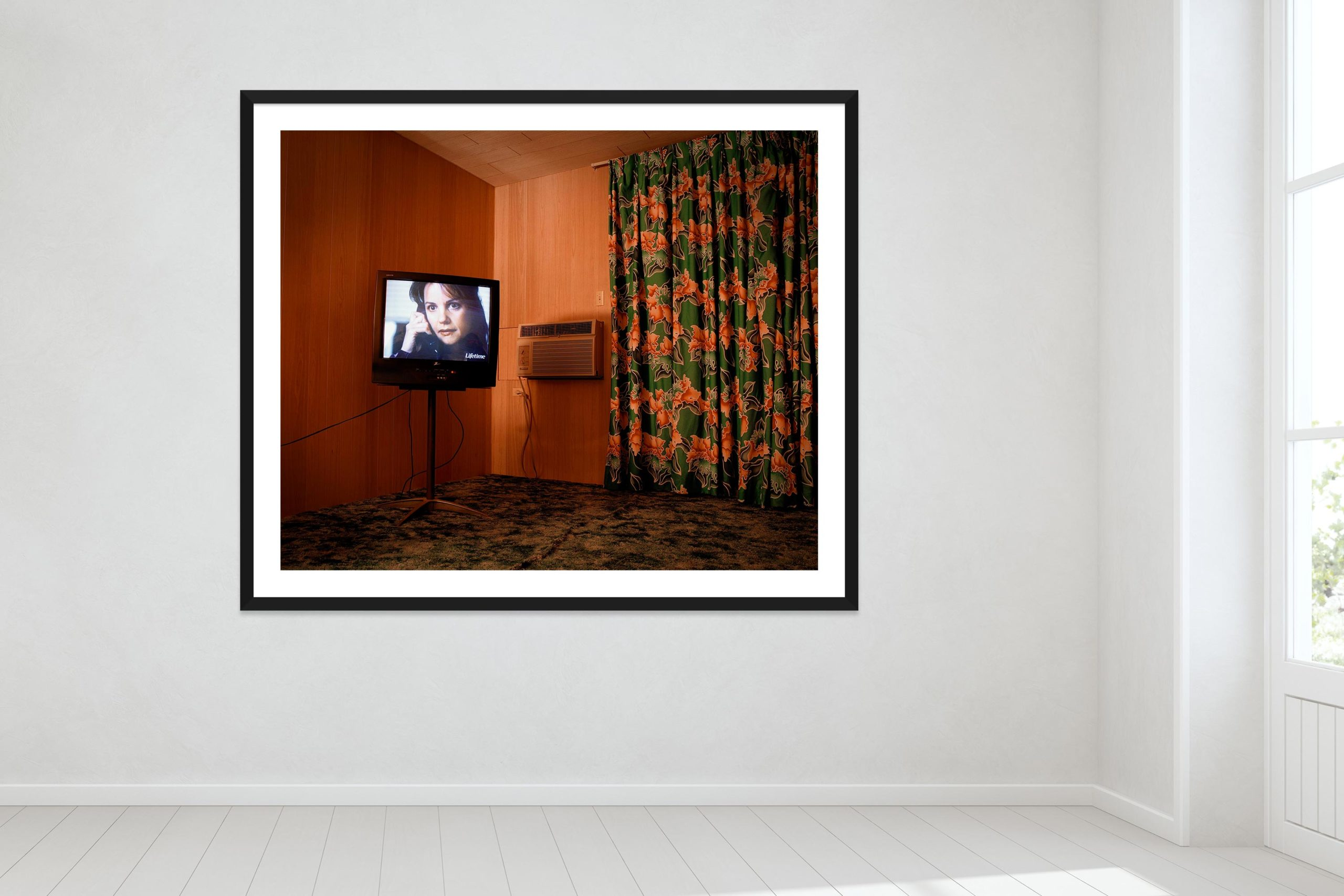Vacancy - Black Frame - Oh Mojave Collection - Fine Art Photography by Toby Dixon