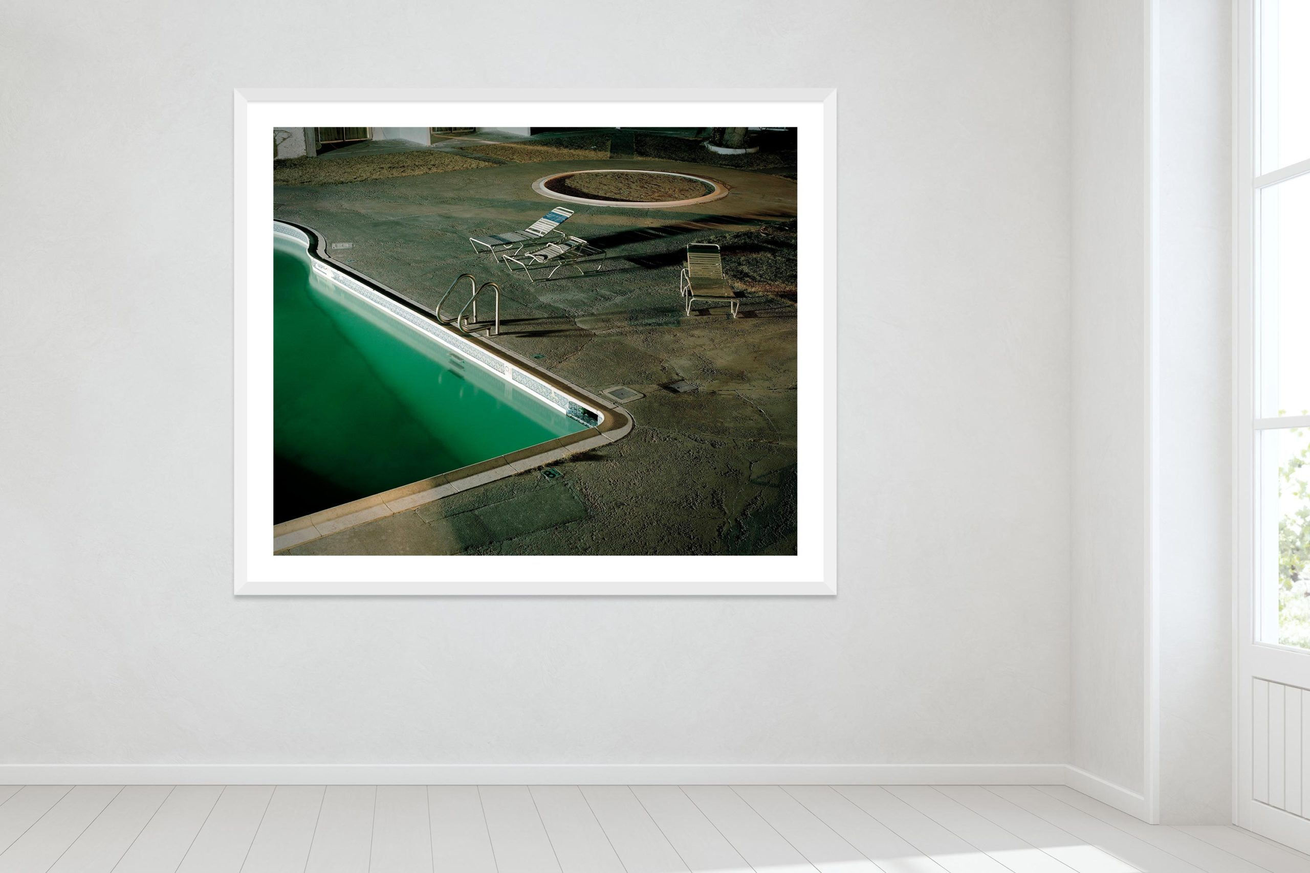 Cancion Mixteca - White Frame - Oh Mojave Collection - Fine Art Photography by Toby Dixon