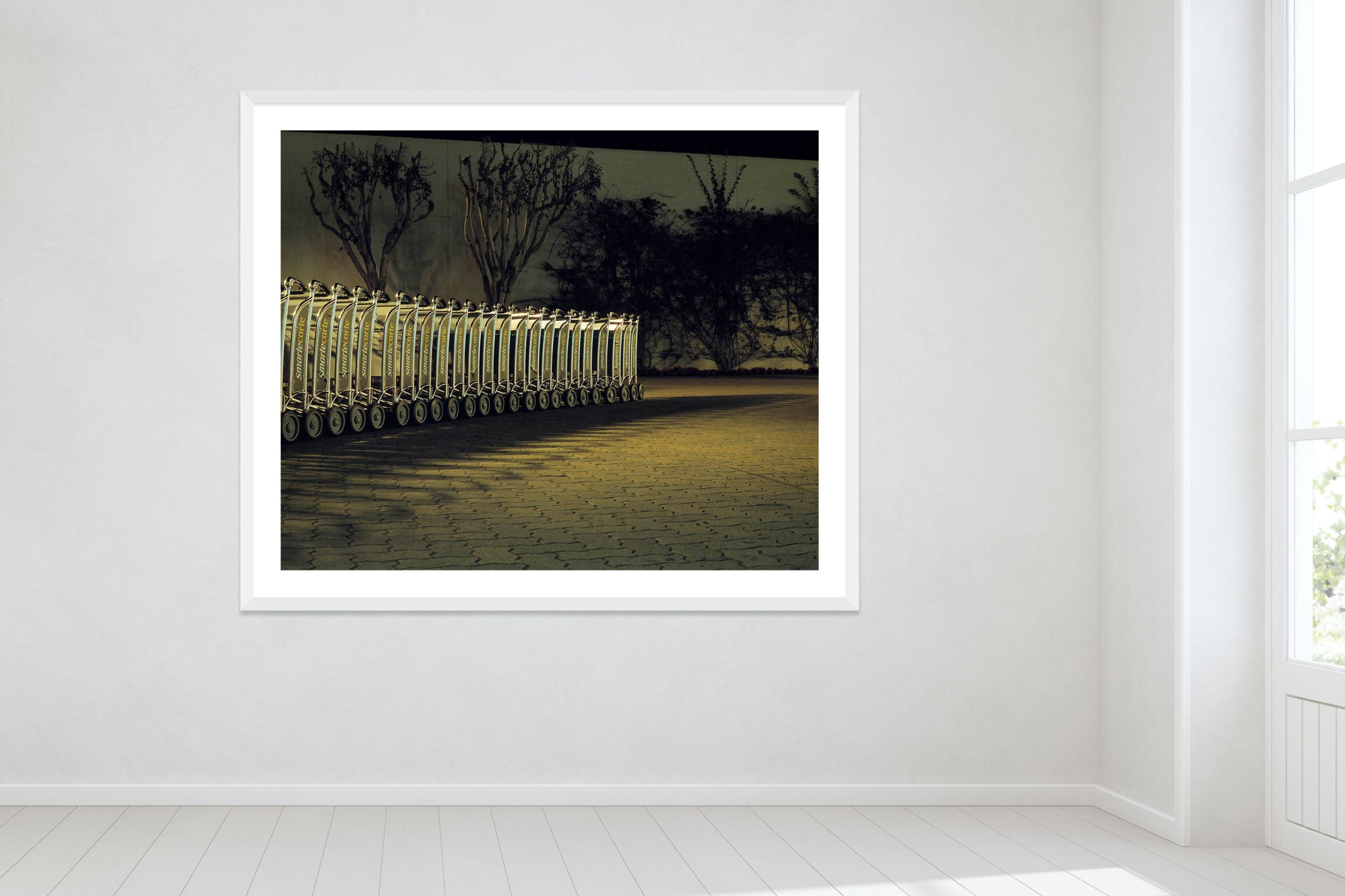 Lax - White Frame - Oh Mojave Collection - Fine Art Photography by Toby Dixon