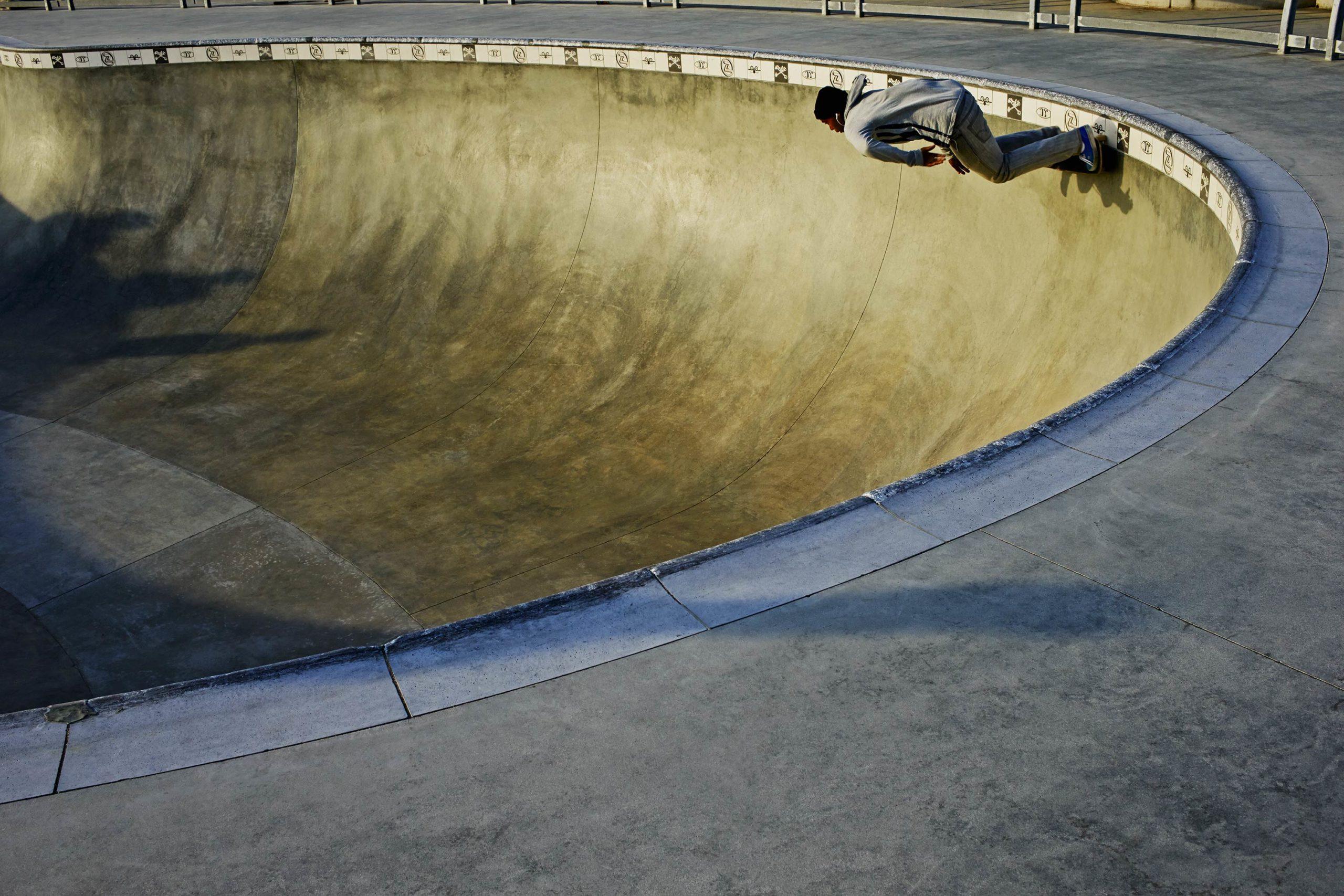 Blue Dream - Skate Park, Venice Beach Collection - Fine Art Photography by Toby Dixon