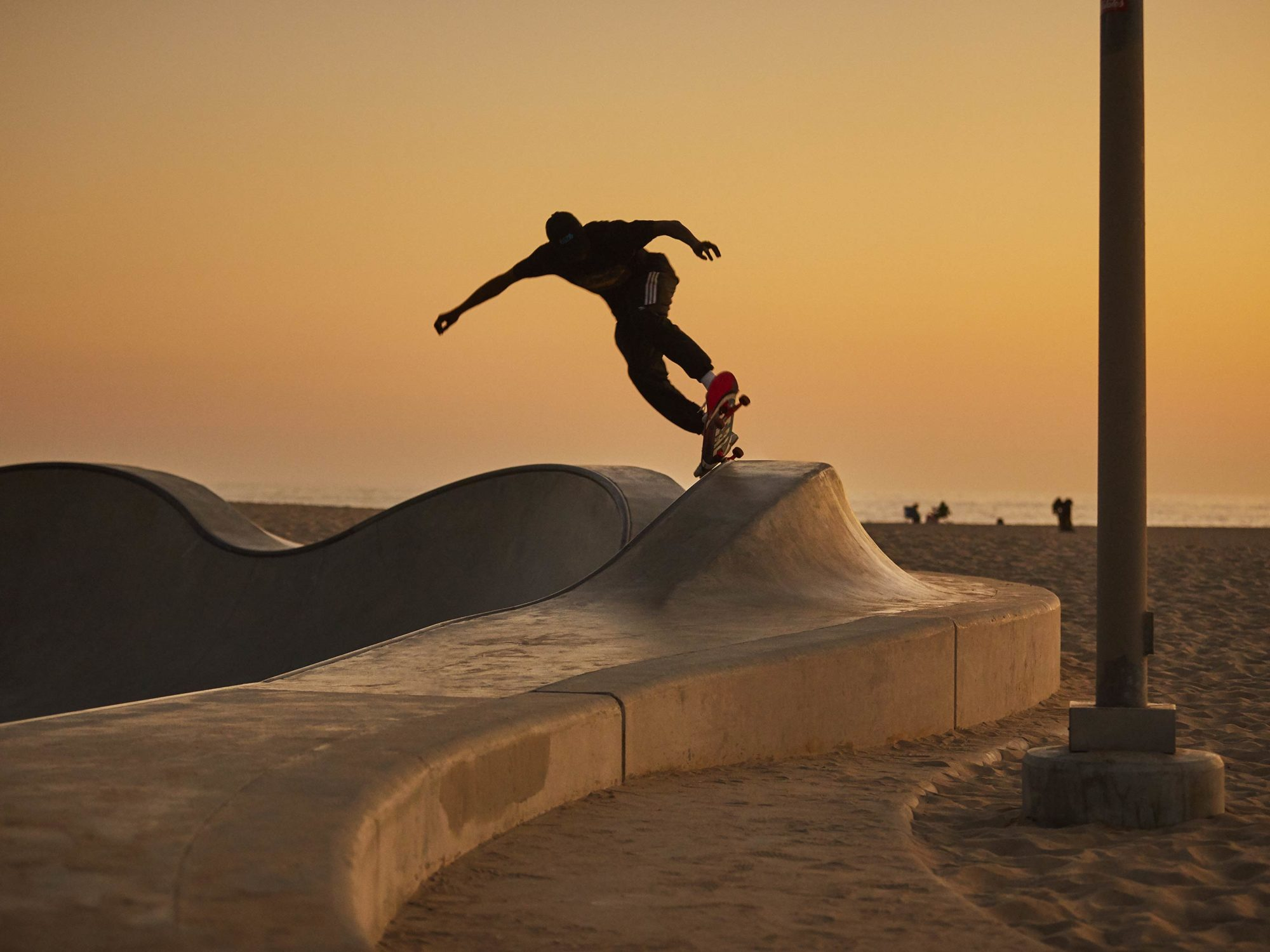 Under Last Light - Skate Park, Venice Beach Collection - Fine Art Photography by Toby Dixon