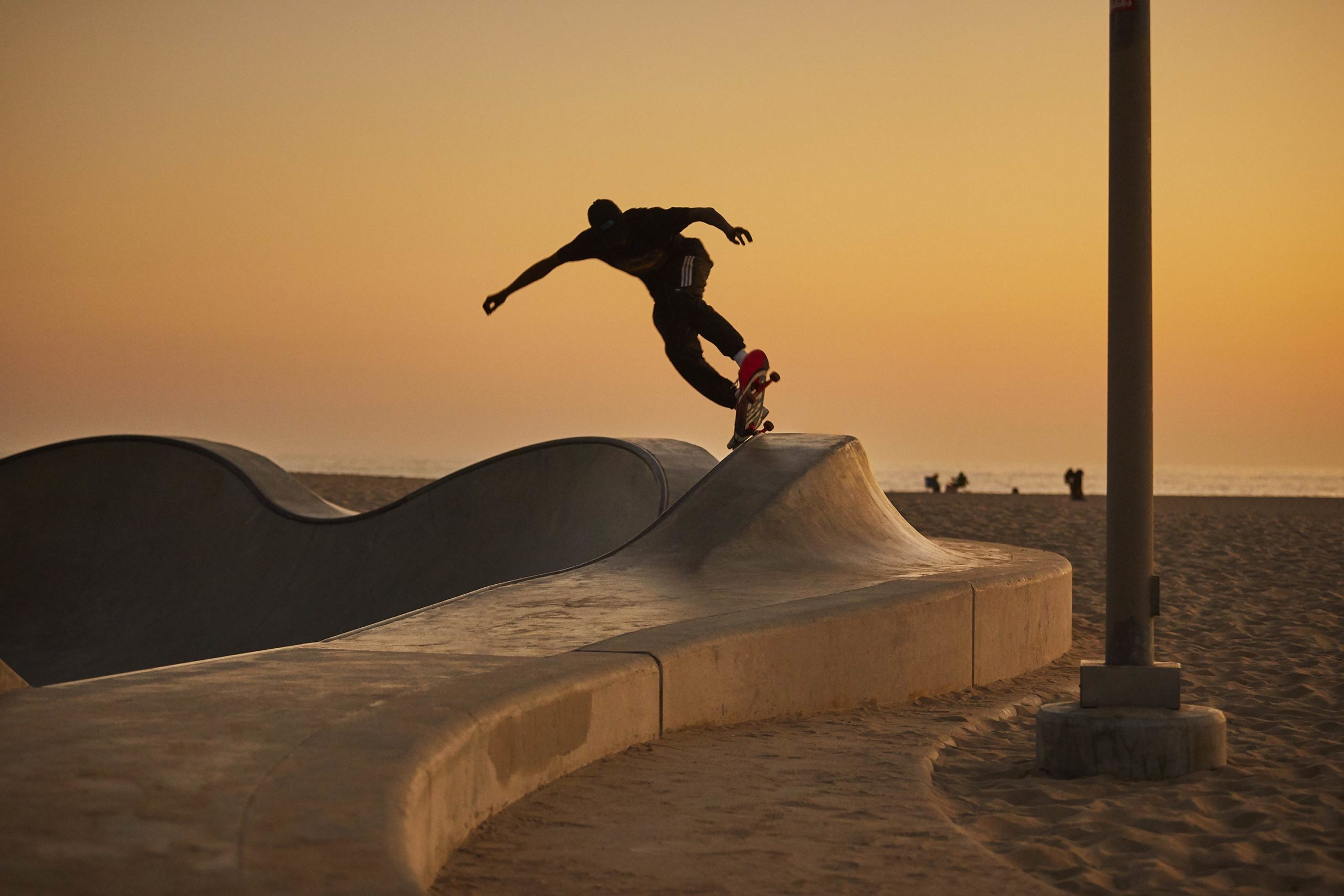 Under Last Light - Skate Park, Venice Beach Collection - Fine Art Photography by Toby Dixon
