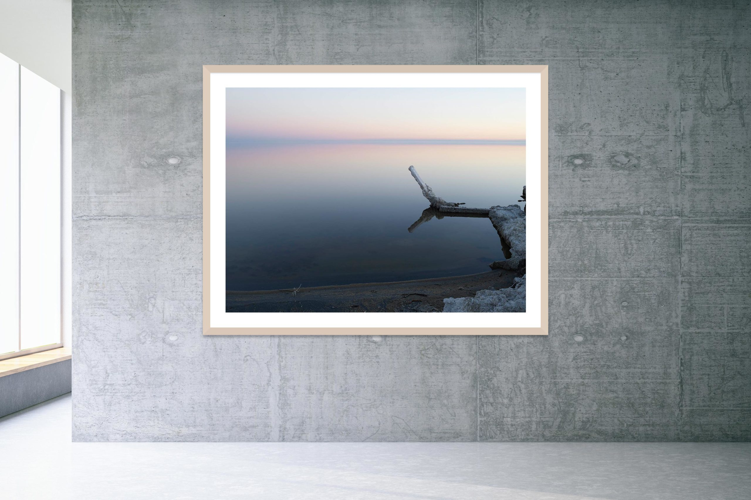 Silver Lining - Timber Frame - Welcome To Bombay Beach Collection - Fine Art Photography by Toby Dixon