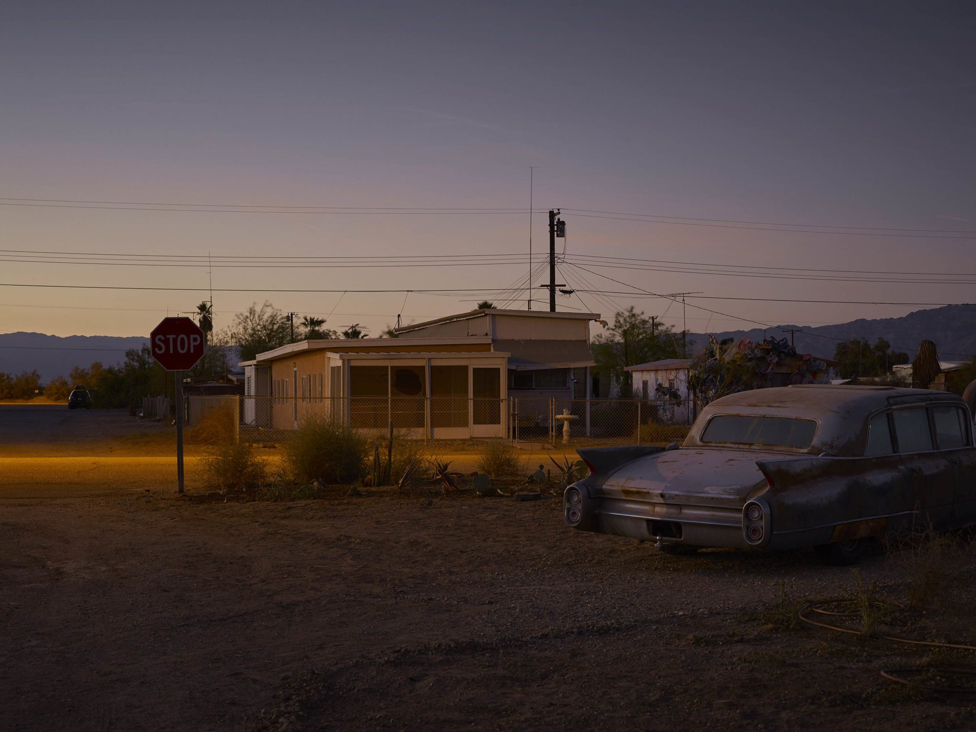 Some Velvet Morning - Welcome To Bombay Beach Collection - Fine Art Photography by Toby Dixon
