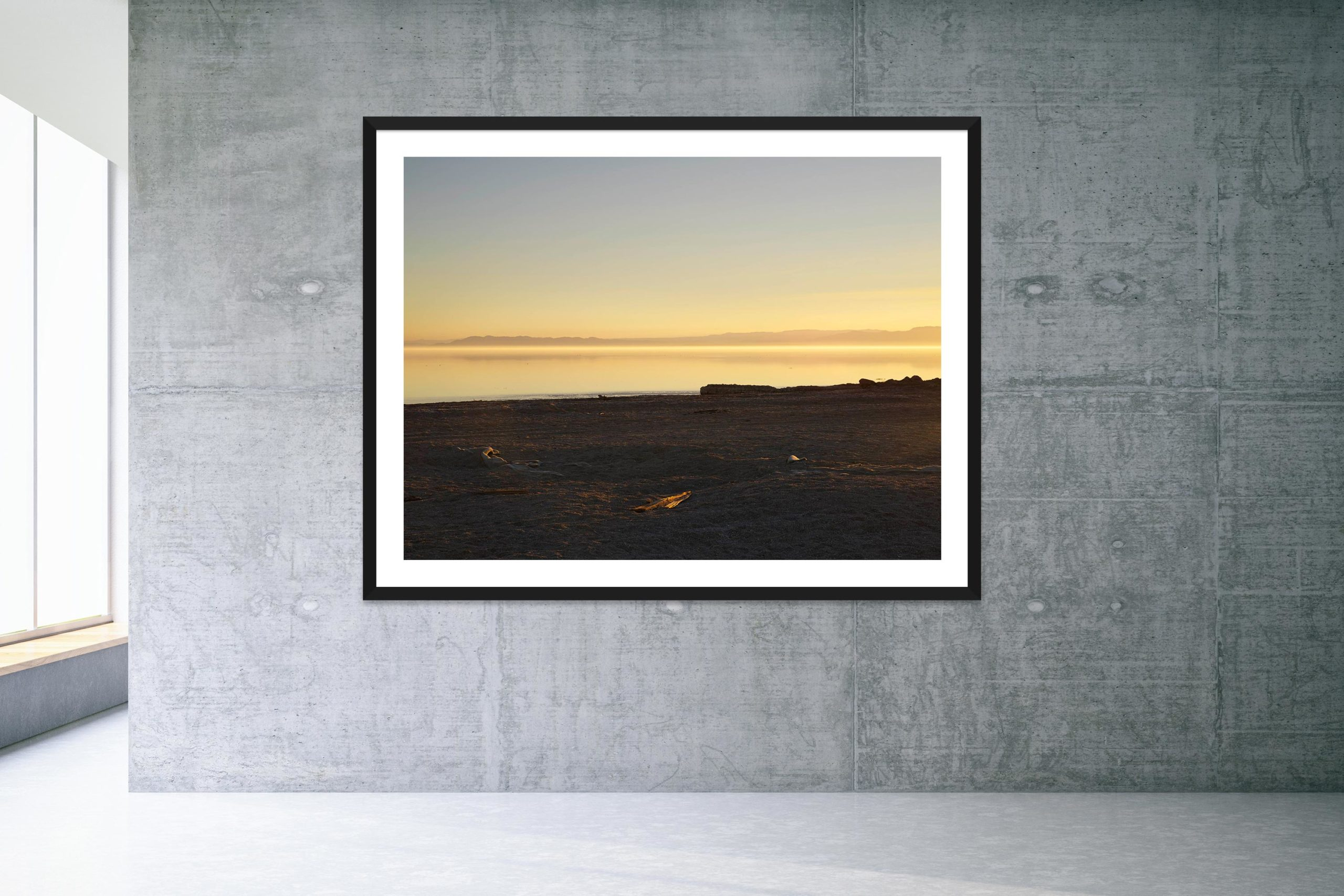 Friday's Child - Black Frame - Welcome To Bombay Beach Collection - Fine Art Photography by Toby Dixon
