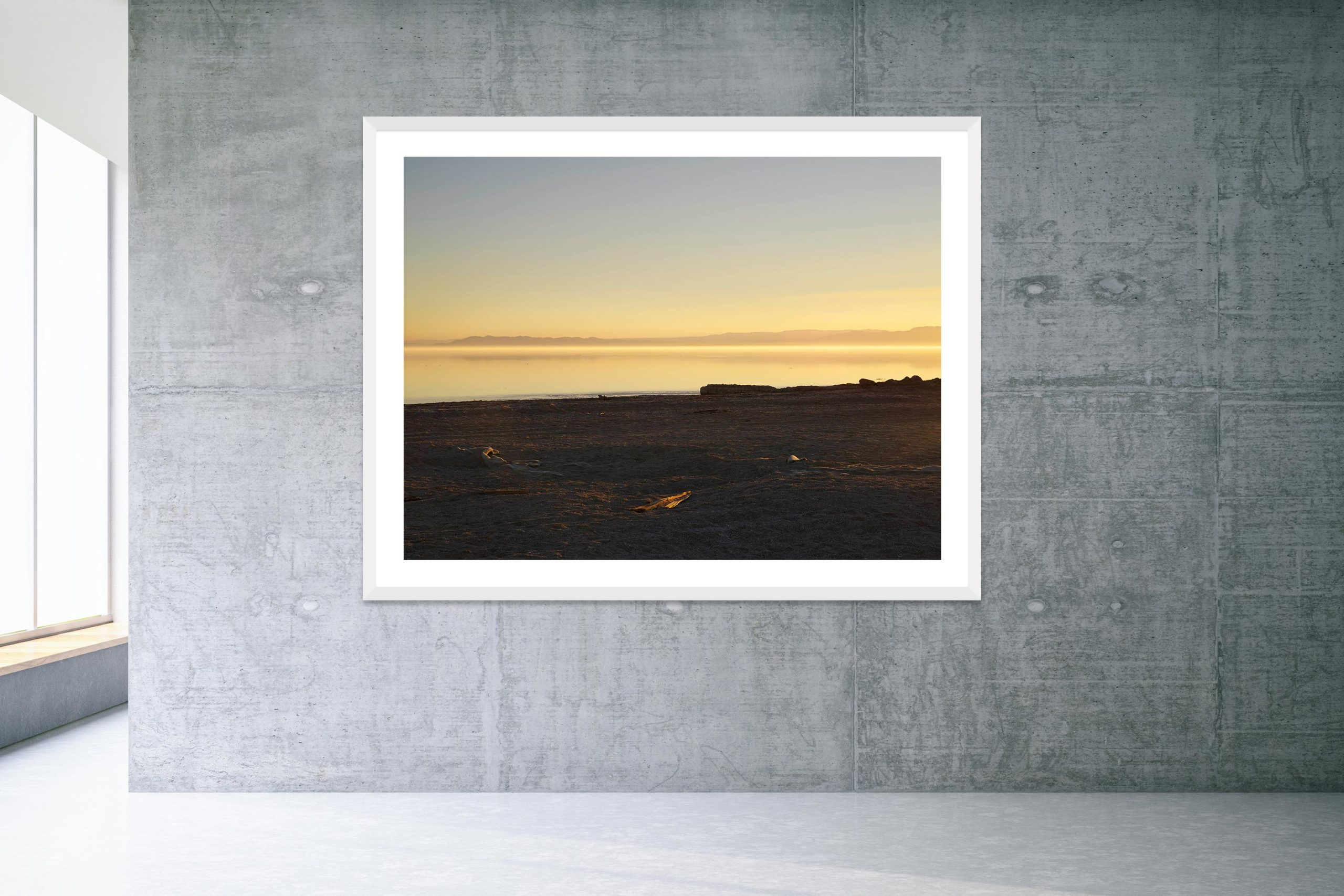 Friday's Child - White Frame - Welcome To Bombay Beach Collection - Fine Art Photography by Toby Dixon