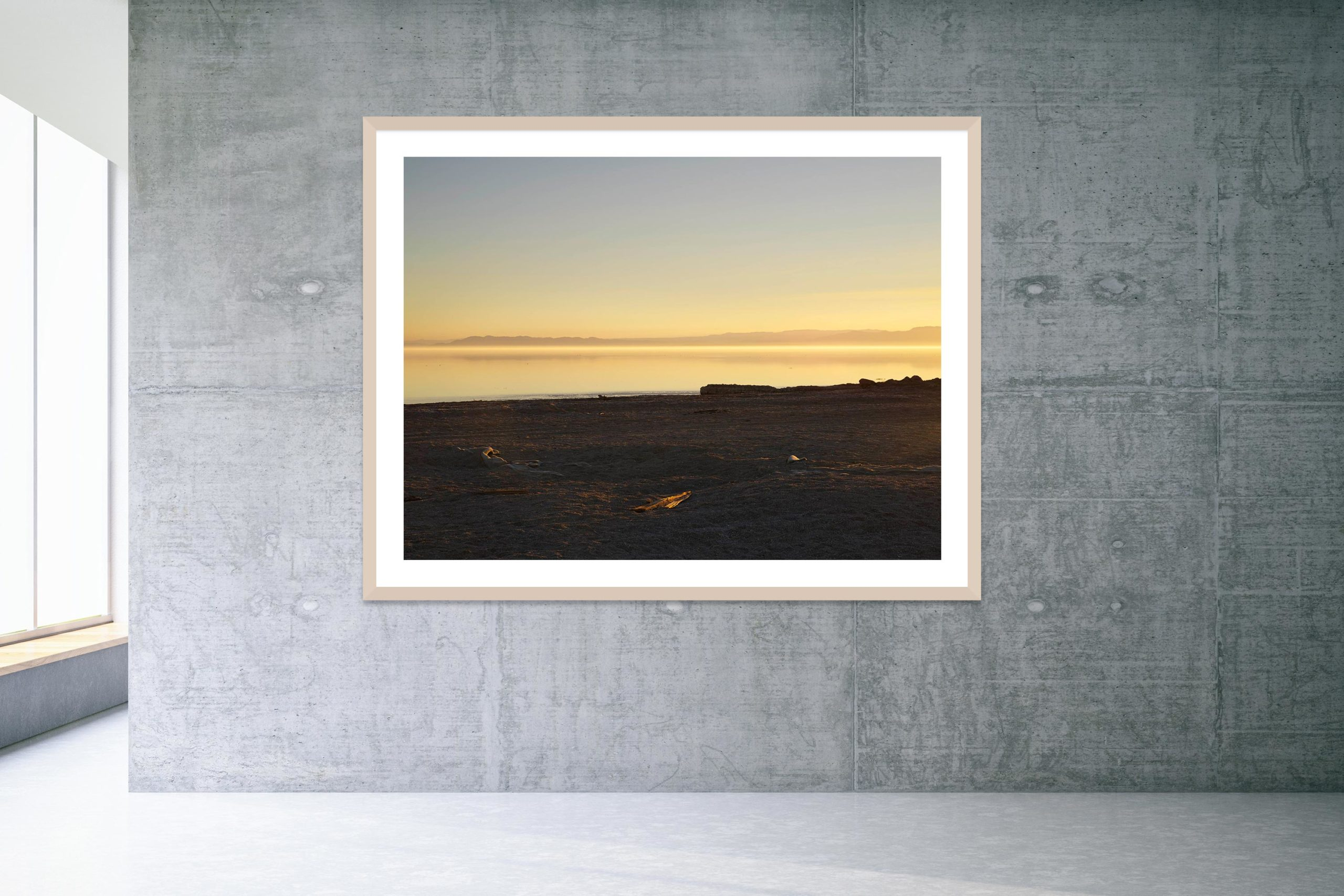 Friday's Child - Timber Frame - Welcome To Bombay Beach Collection - Fine Art Photography by Toby Dixon