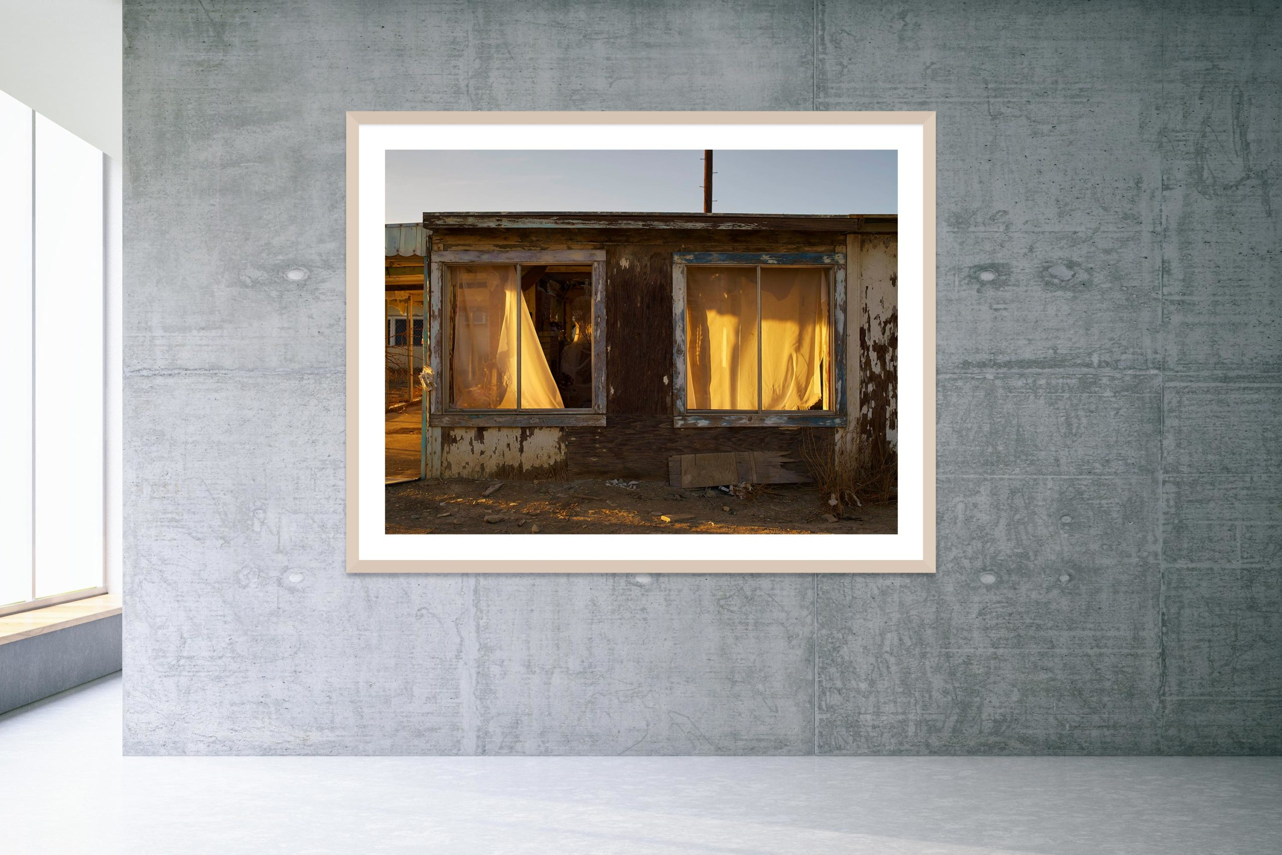The Dream House - Timber Frame - Welcome To Bombay Beach Collection - Fine Art Photography by Toby Dixon