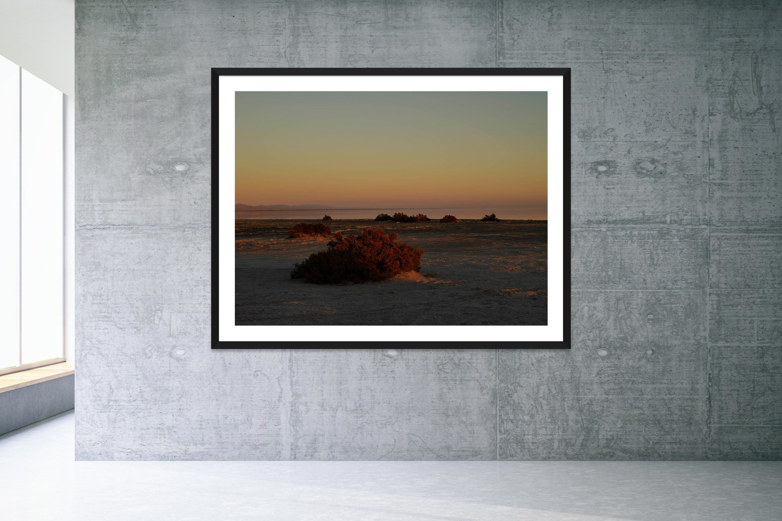 May As Well - Bonus Track - Black Frame - Welcome To Bombay Beach Collection - Fine Art Photography by Toby Dixon