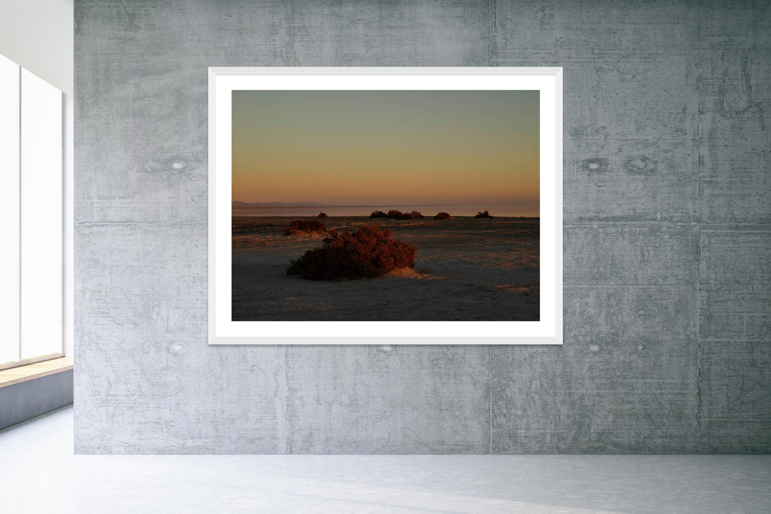 May As Well - Bonus Track - White Frame - Welcome To Bombay Beach Collection - Fine Art Photography by Toby Dixon