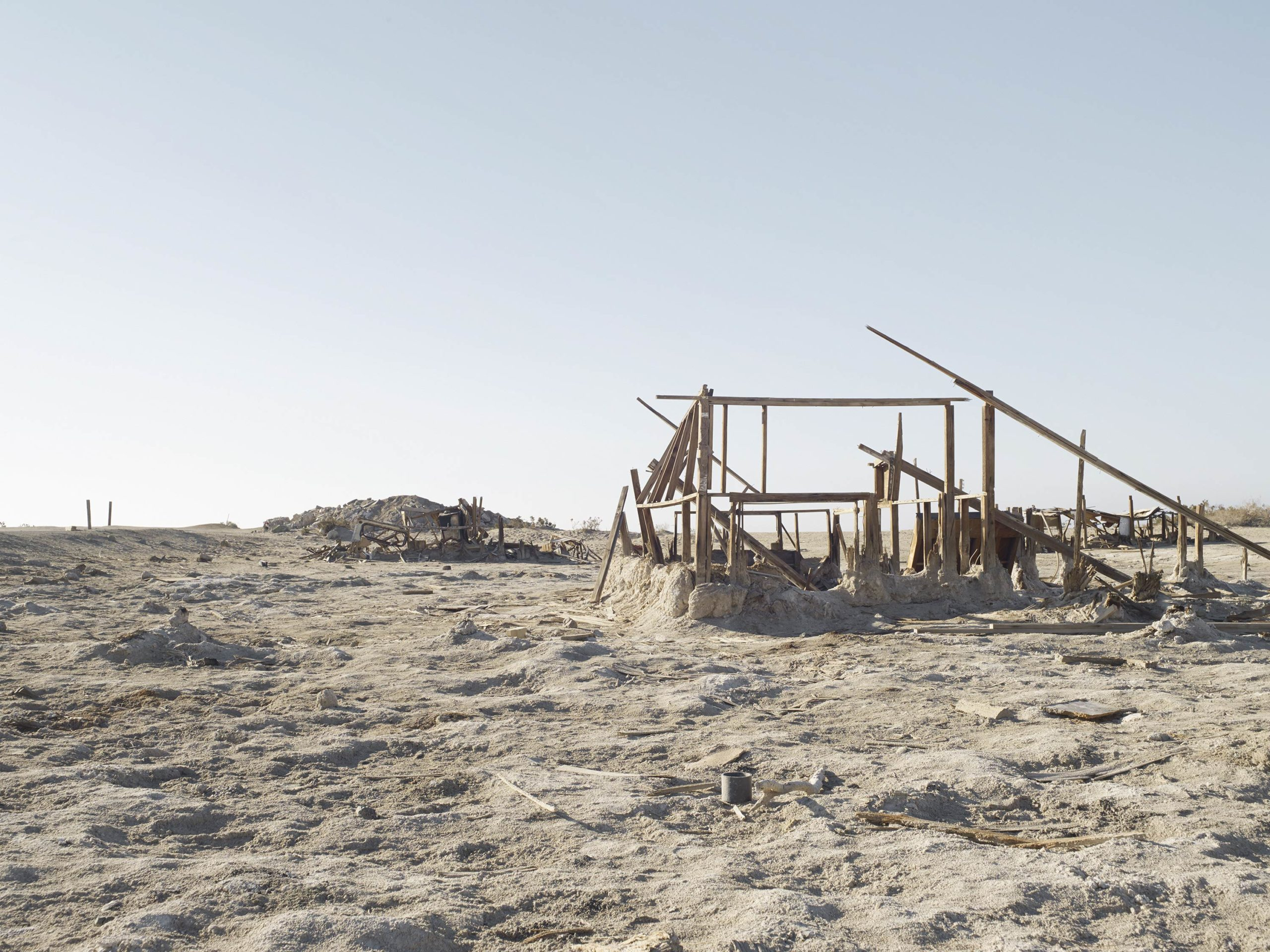 Bleach - Welcome To Bombay Beach Collection - Fine Art Photography by Toby Dixon