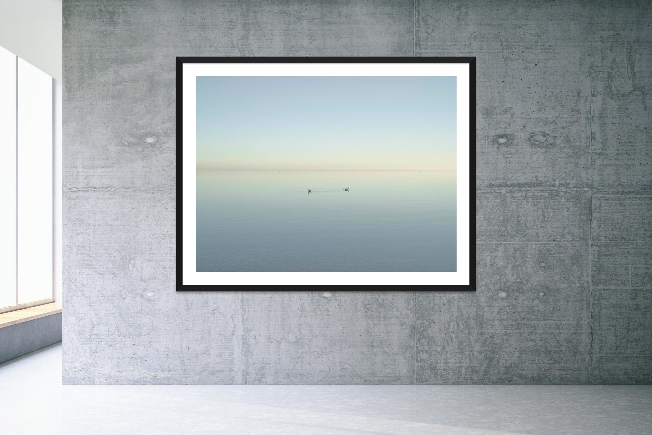 Too Busy Saying Goodbye - Black Frame - Welcome To Bombay Beach Collection - Fine Art Photography by Toby Dixon