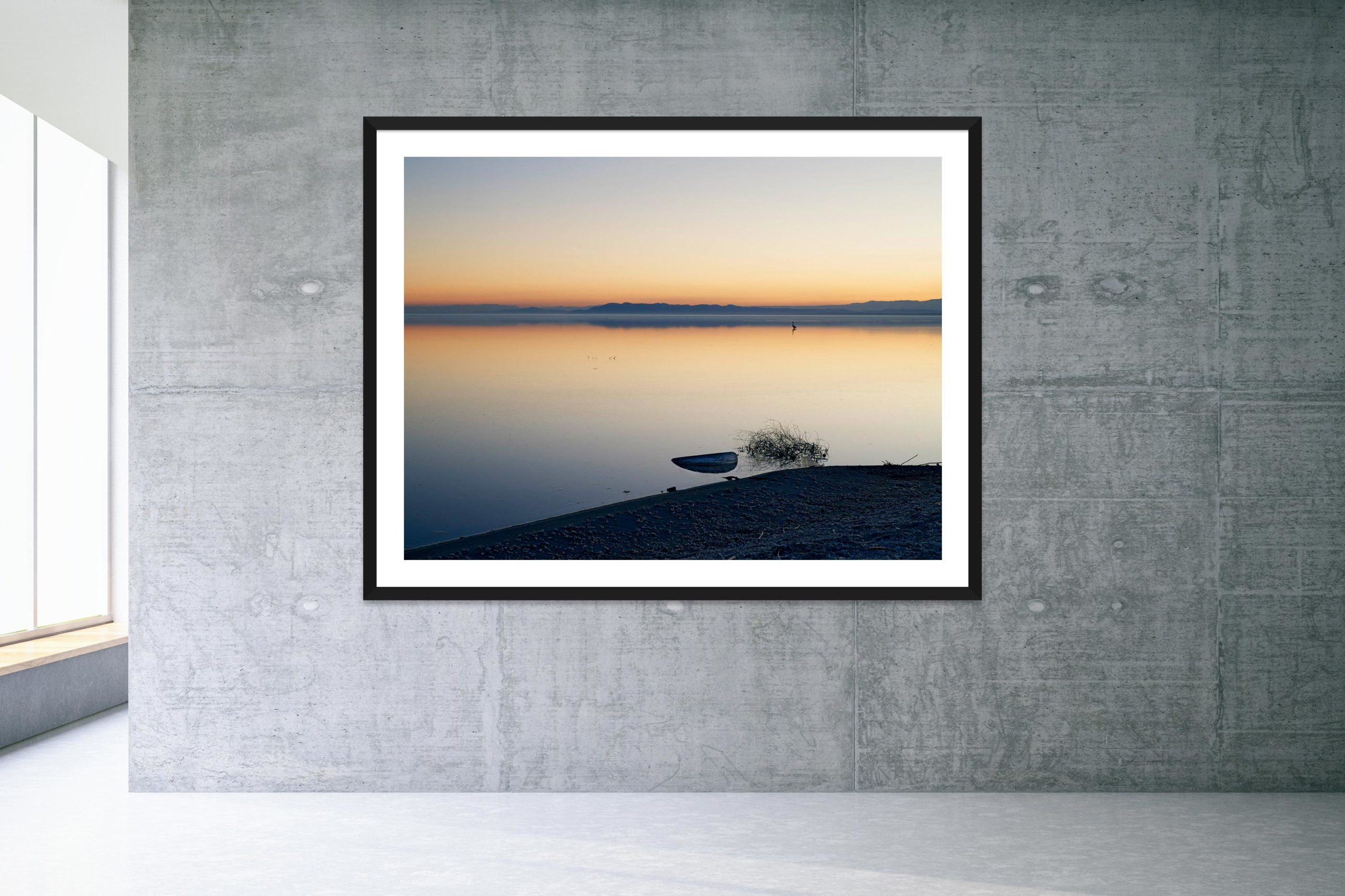 Good Year - Black Frame - Welcome To Bombay Beach Collection - Fine Art Photography by Toby Dixon