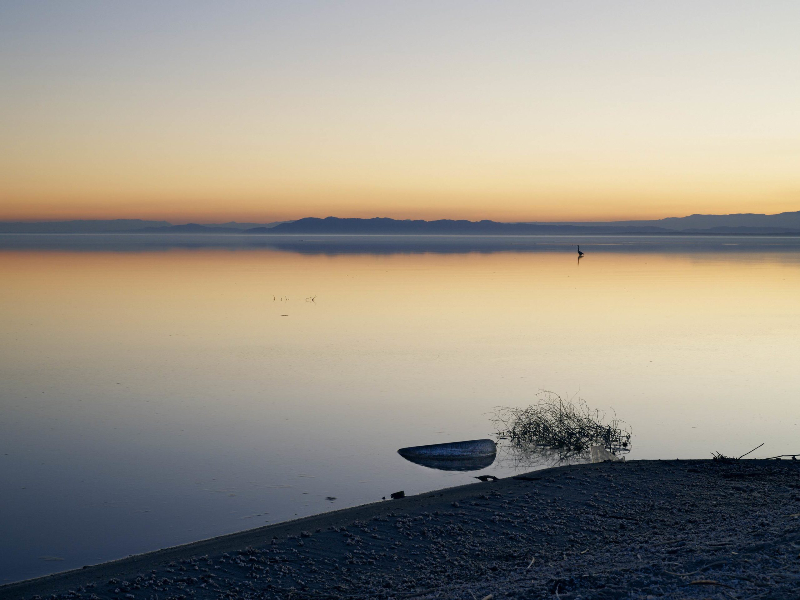 Good Year - Welcome To Bombay Beach Collection - Fine Art Photography by Toby Dixon