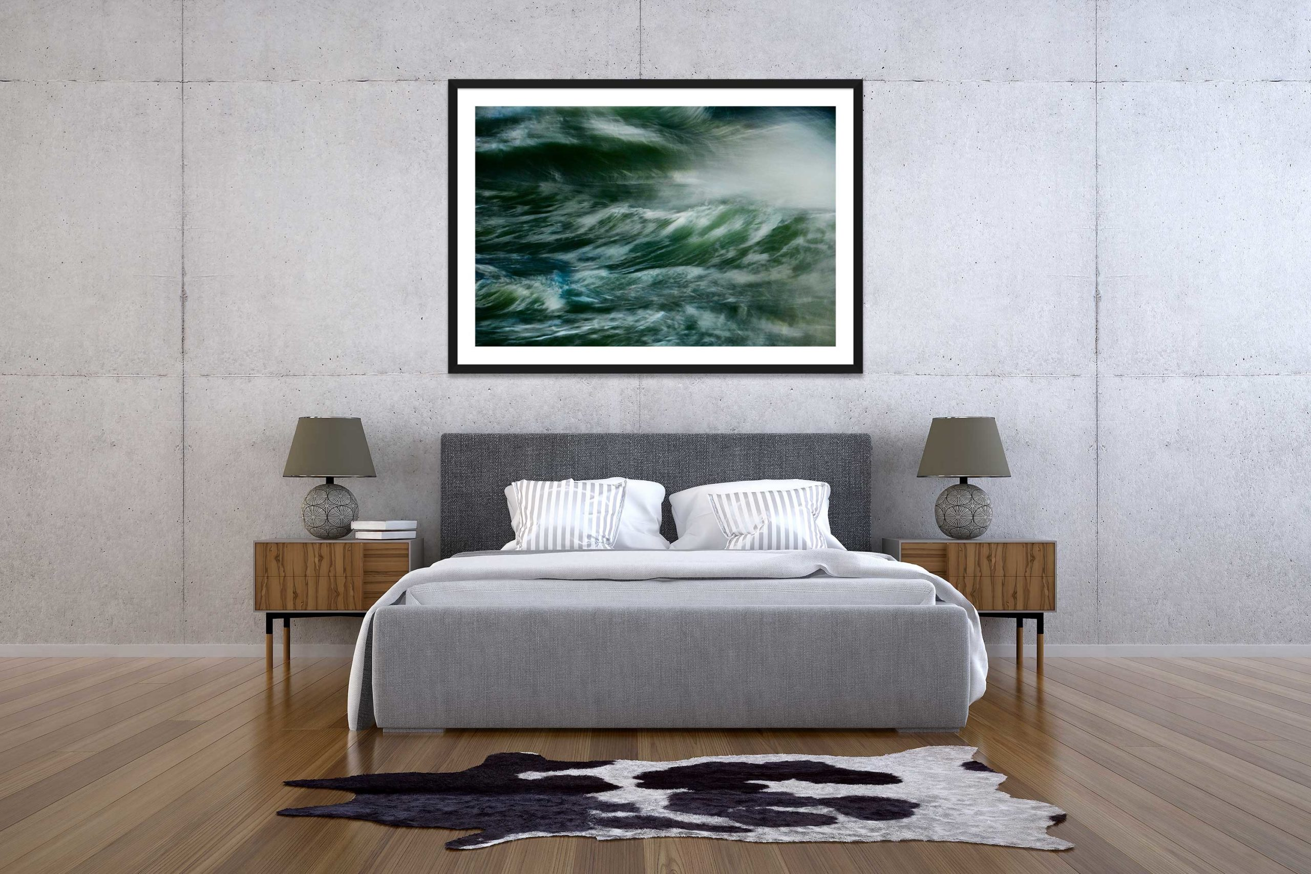 The Storm 1 - Black Frame - The Storm Collection - Fine Art Photography by Toby Dixon