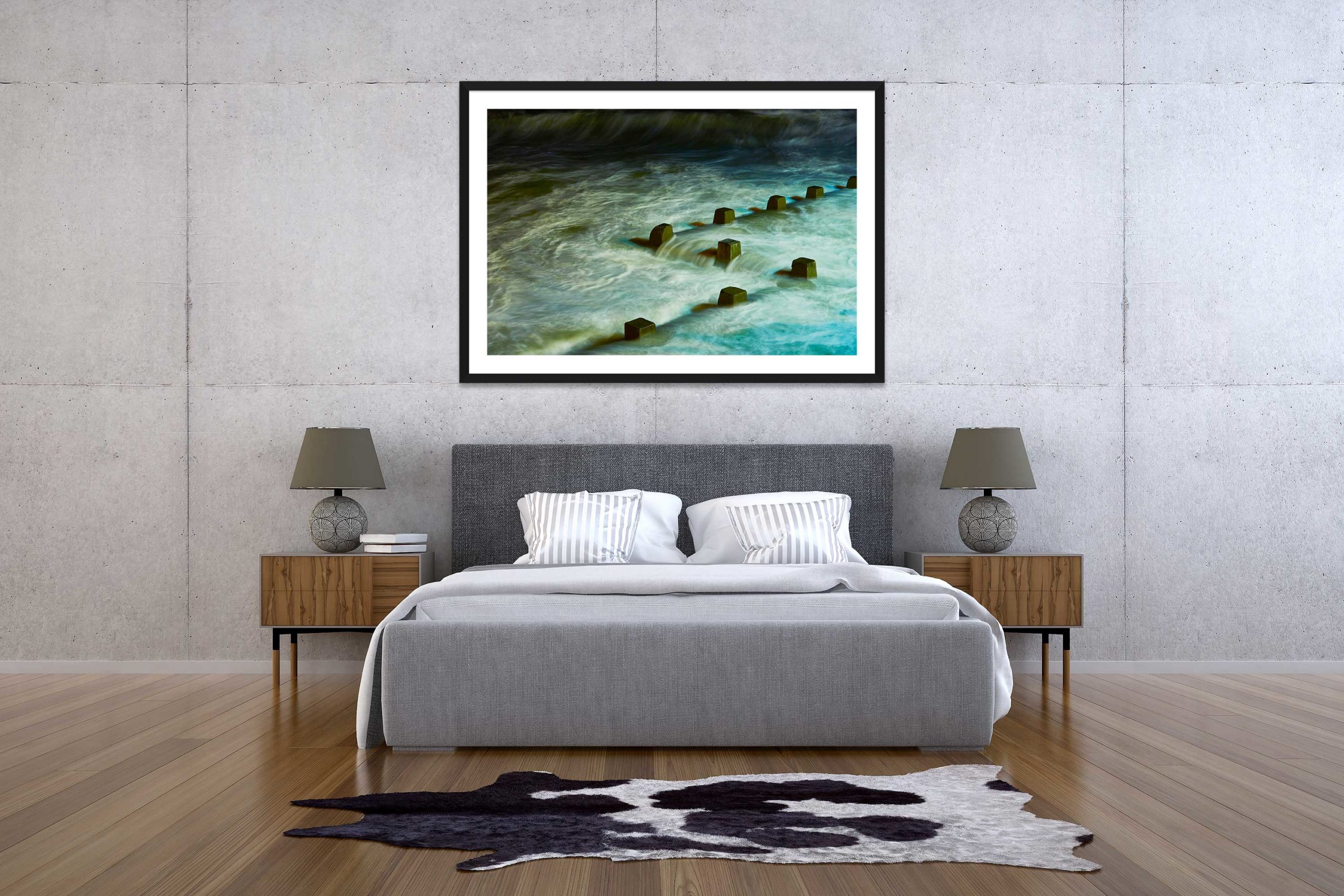 The Storm 2 - Black Frame - The Storm Collection - Fine Art Photography by Toby Dixon