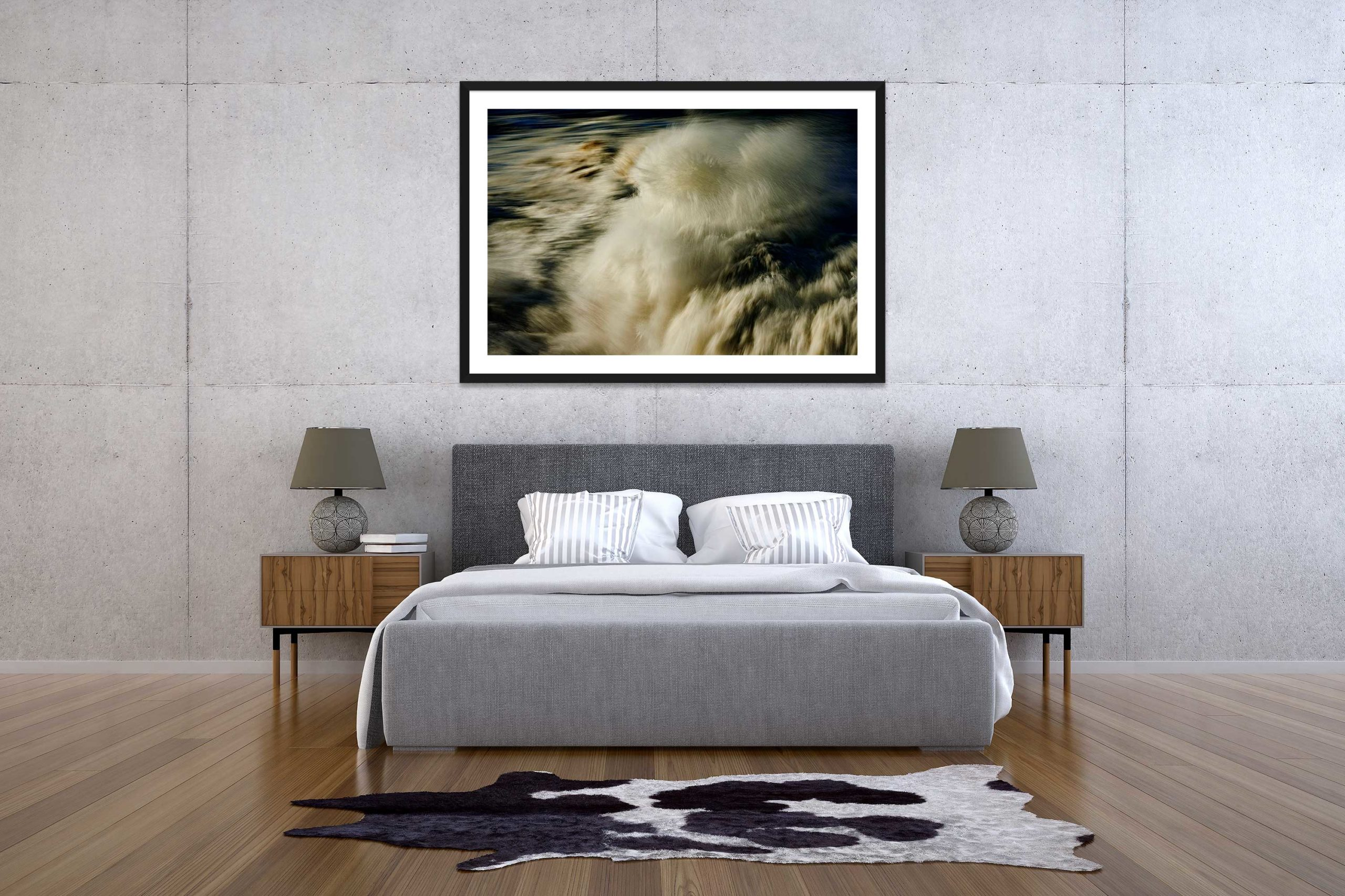 The Storm 3 - Black Frame - The Storm Collection - Fine Art Photography by Toby Dixon