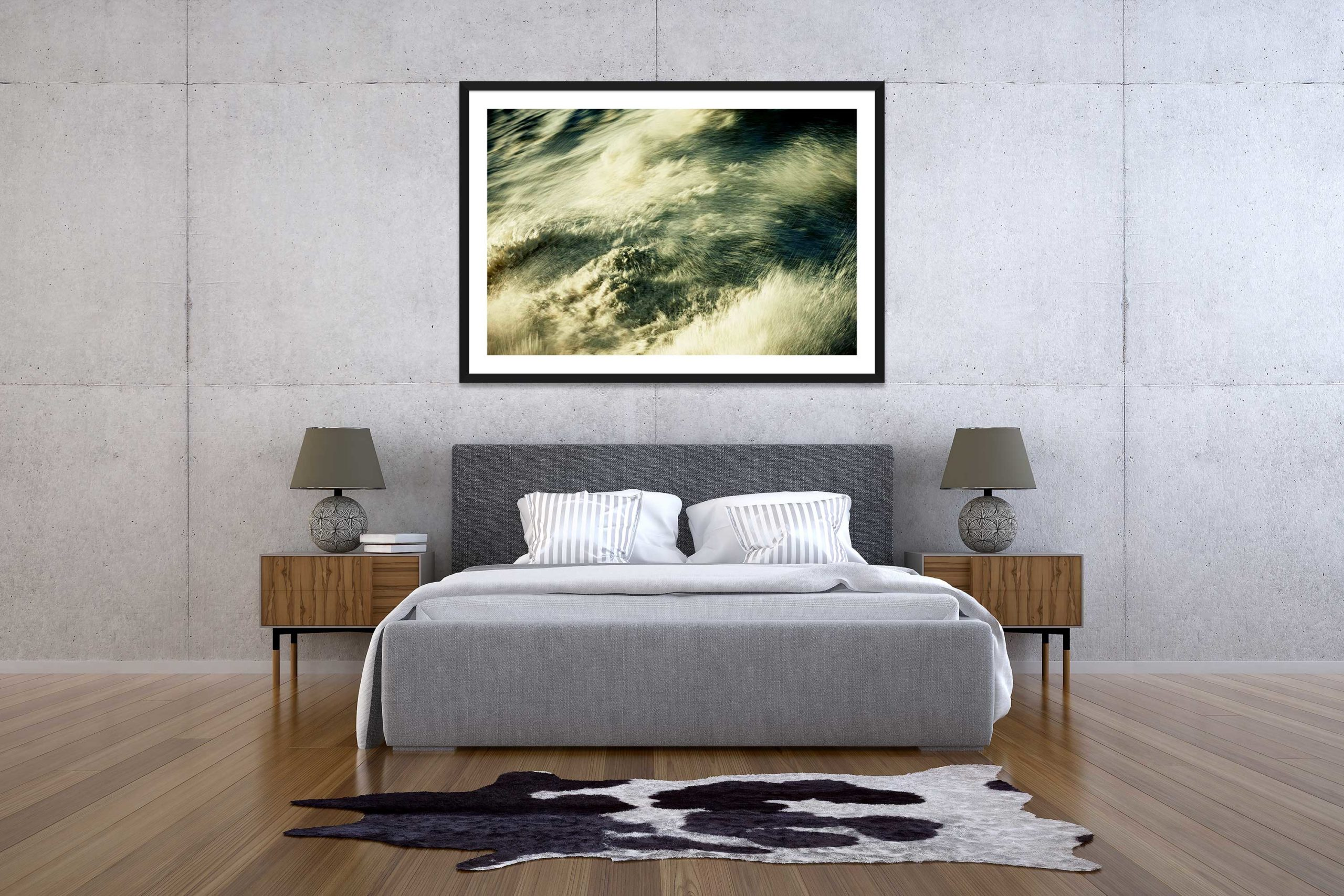 The Storm 4 - Black Frame - The Storm Collection - Fine Art Photography by Toby Dixon