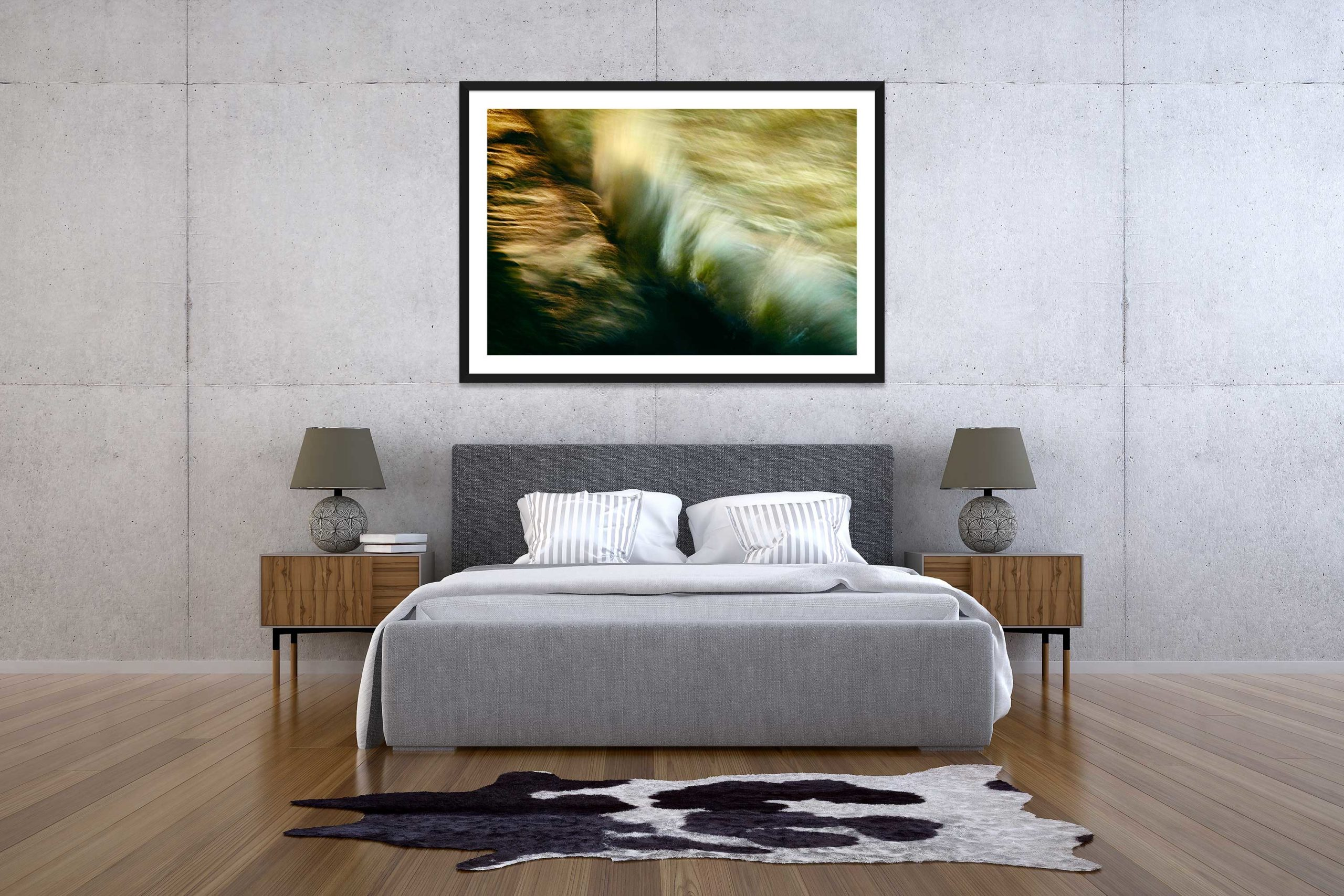 The Storm 5 - Black Frame - The Storm Collection - Fine Art Photography by Toby Dixon