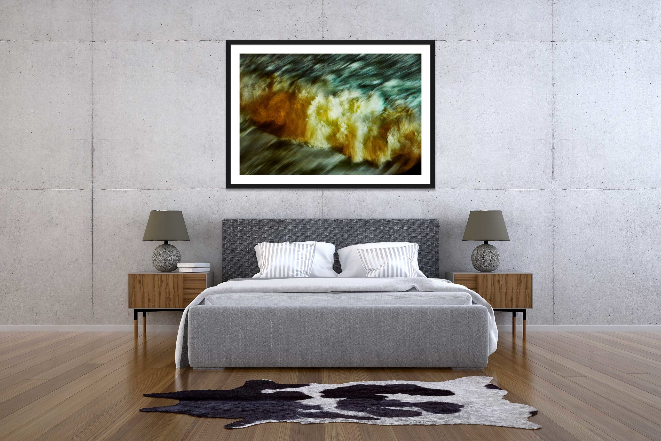 The Storm 7 - Black Frame - The Storm Collection - Fine Art Photography by Toby Dixon