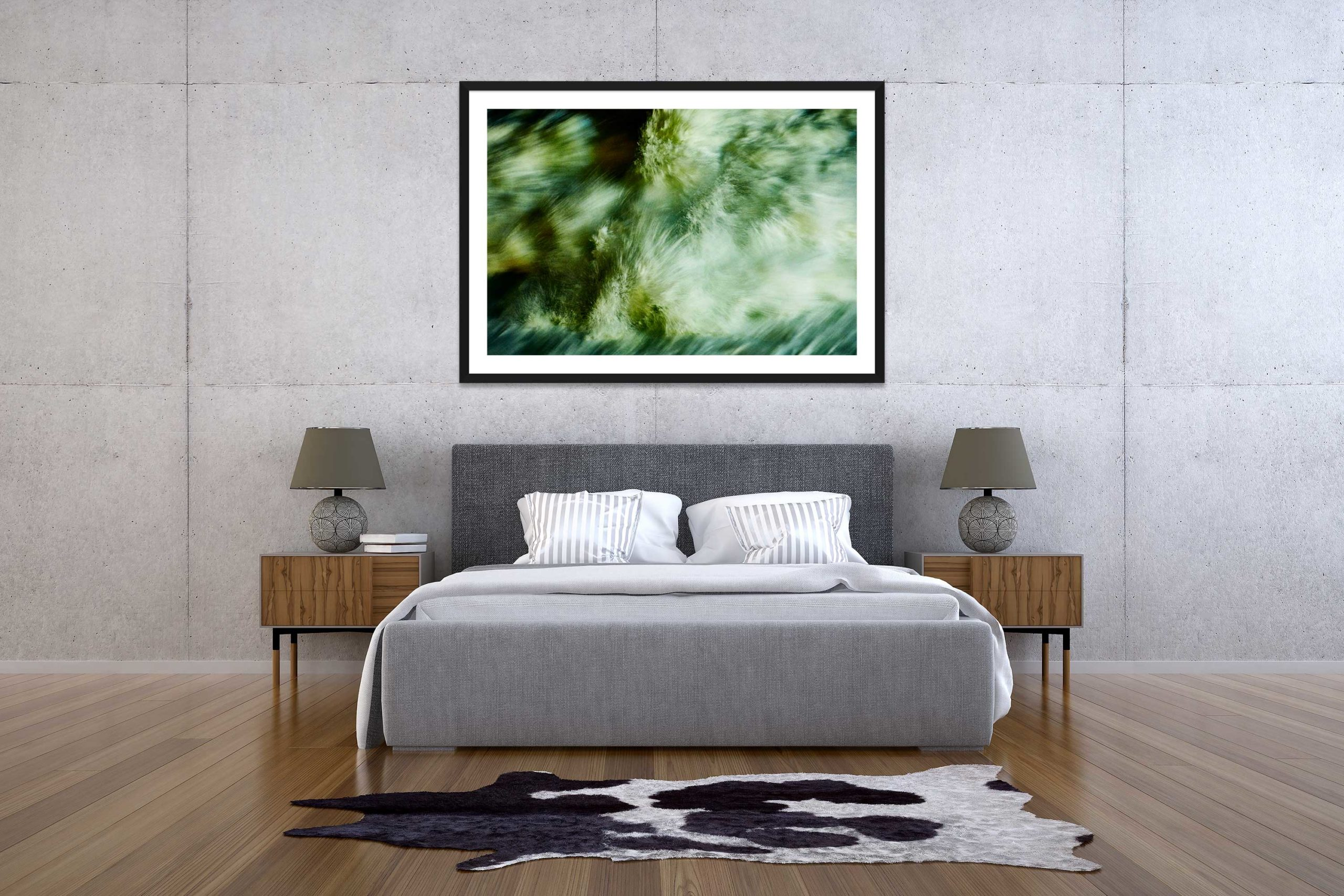The Storm 8 - Black Frame - The Storm Collection - Fine Art Photography by Toby Dixon