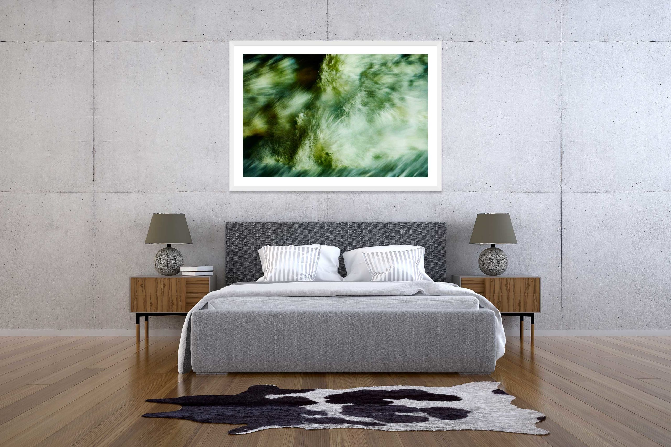 The Storm 8 - White Frame - The Storm Collection - Fine Art Photography by Toby Dixon