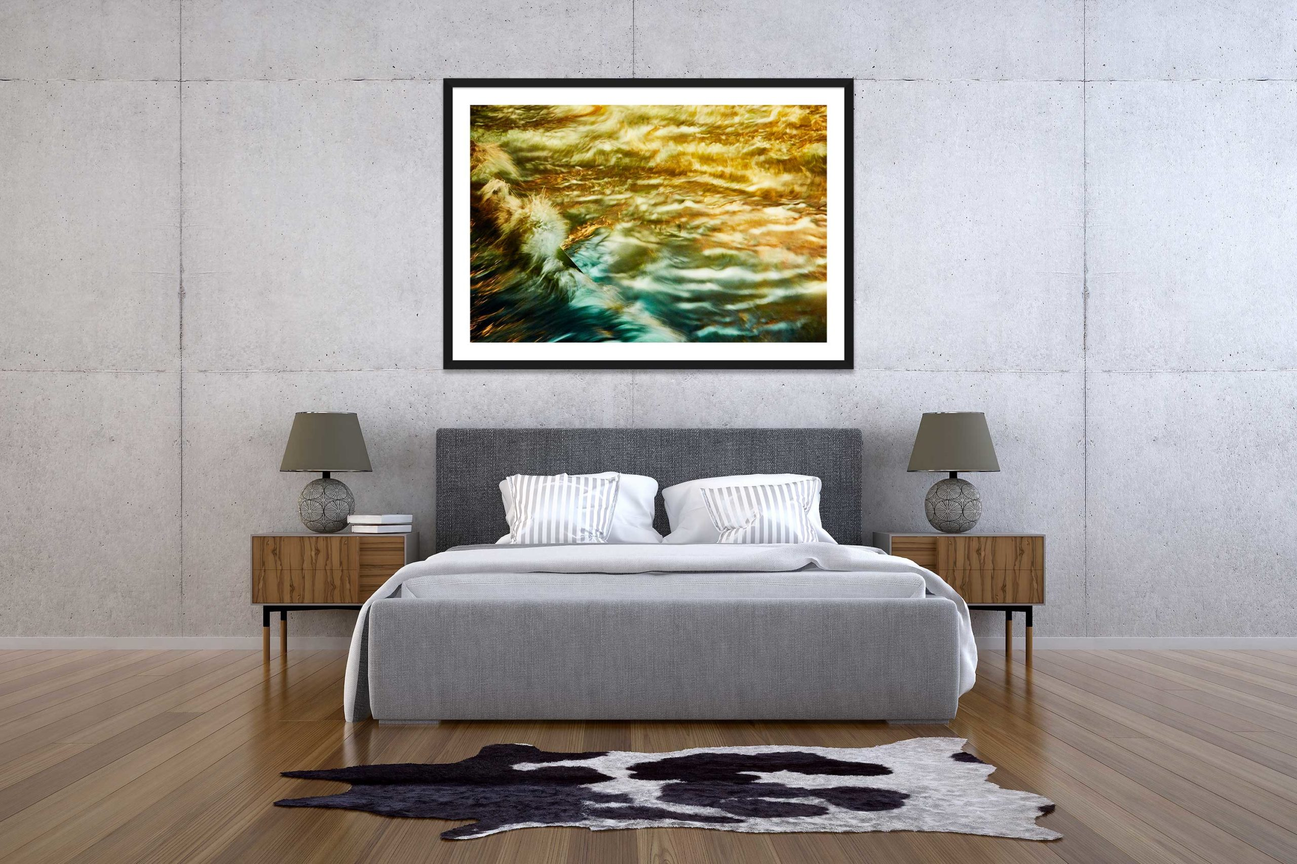 The Storm 9 - Black Frame - The Storm Collection - Fine Art Photography by Toby Dixon