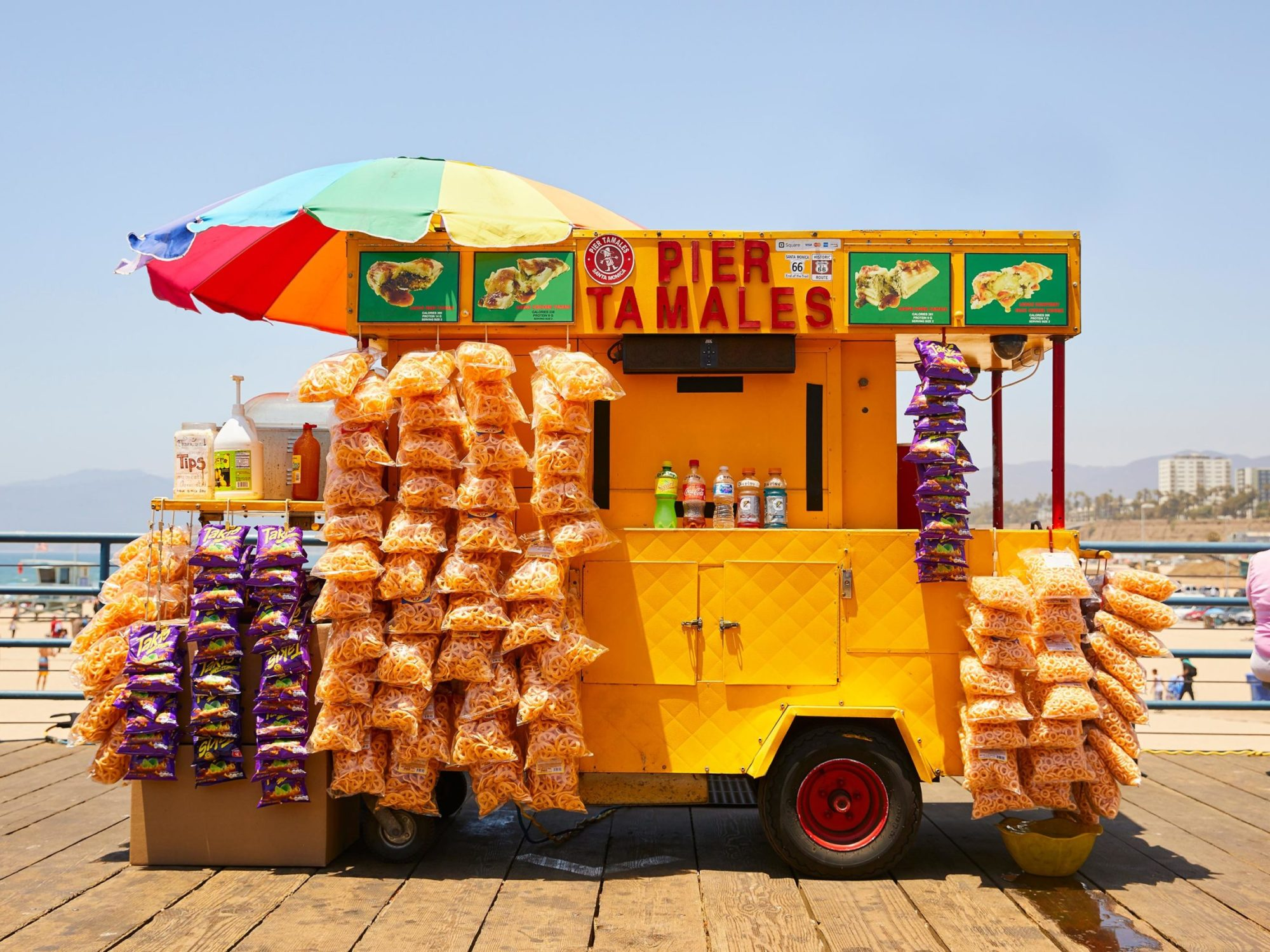 Santa Monica Pier 3 - Carnival Collection - Fine Art Photography by Toby Dixon
