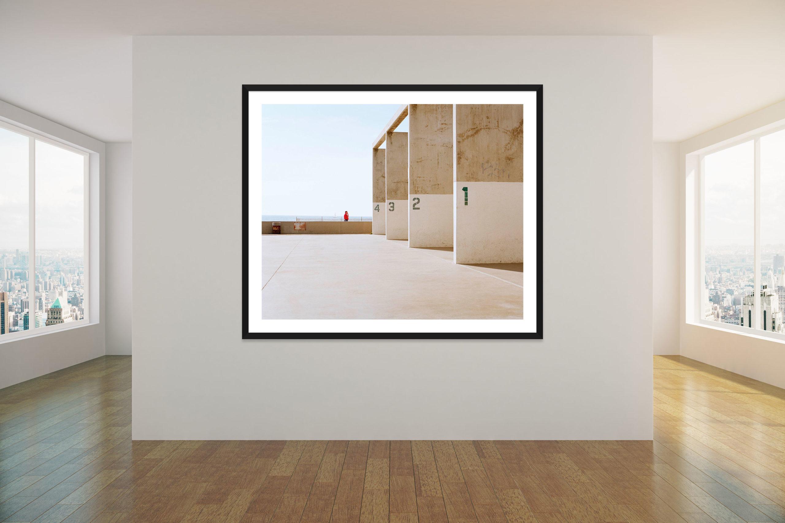 Venice Beach Squash Courts - Black Frame - Concrete Collection - Fine Art Photography by Toby Dixon