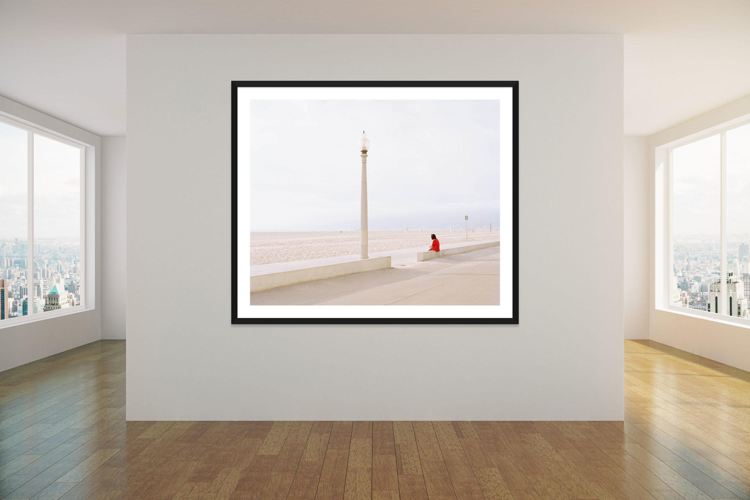 Tourist - Black Frame - Concrete Collection - Fine Art Photography by Toby Dixon